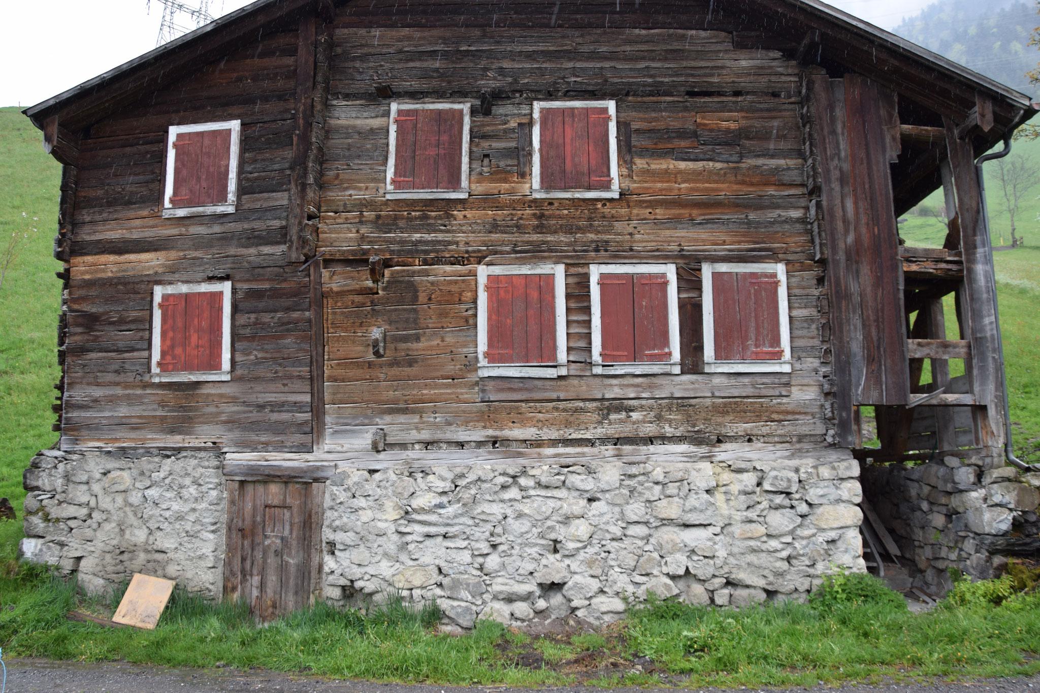 Haus Tannen vor der Restaurierung