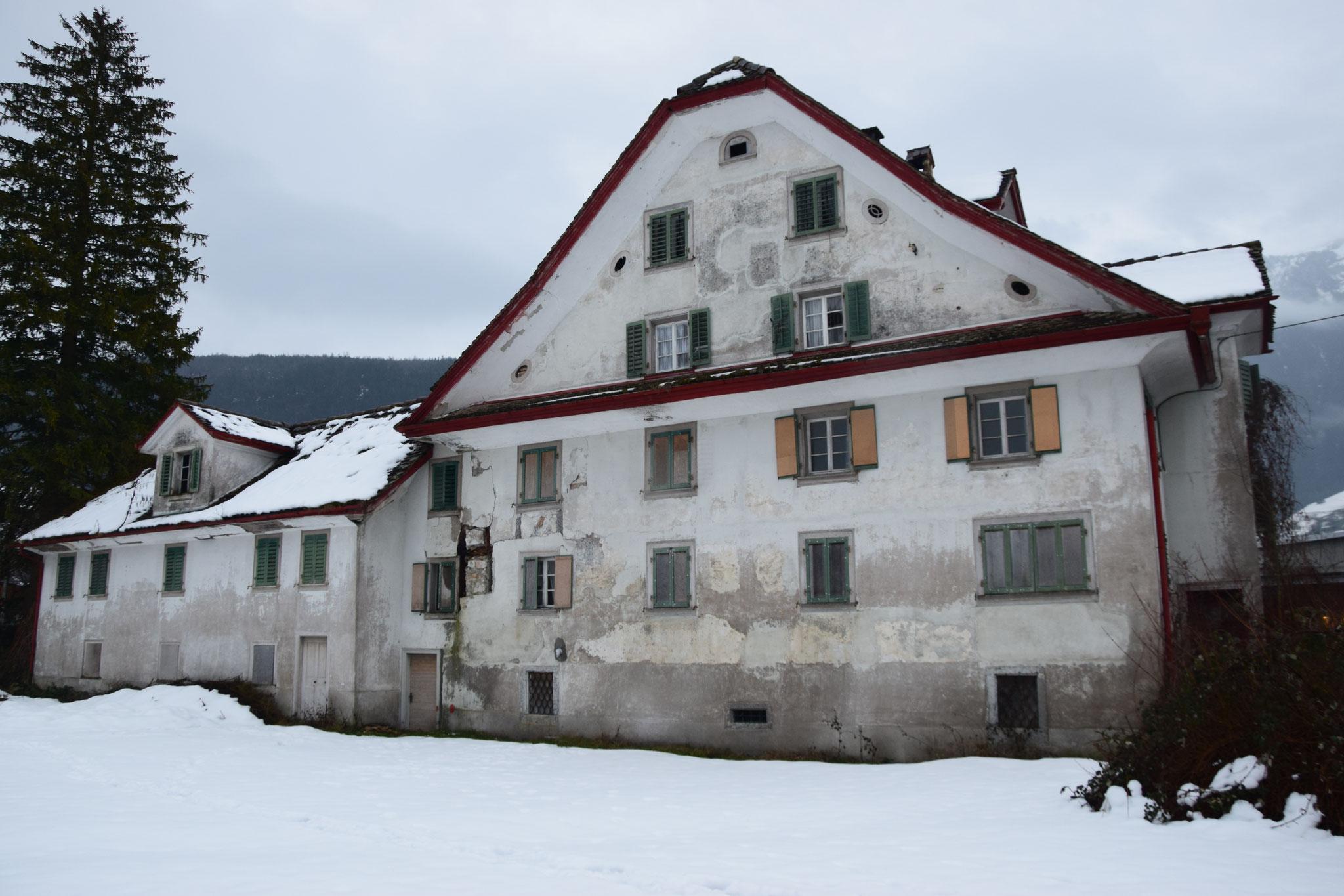 Nordfassade vor der Sanierung