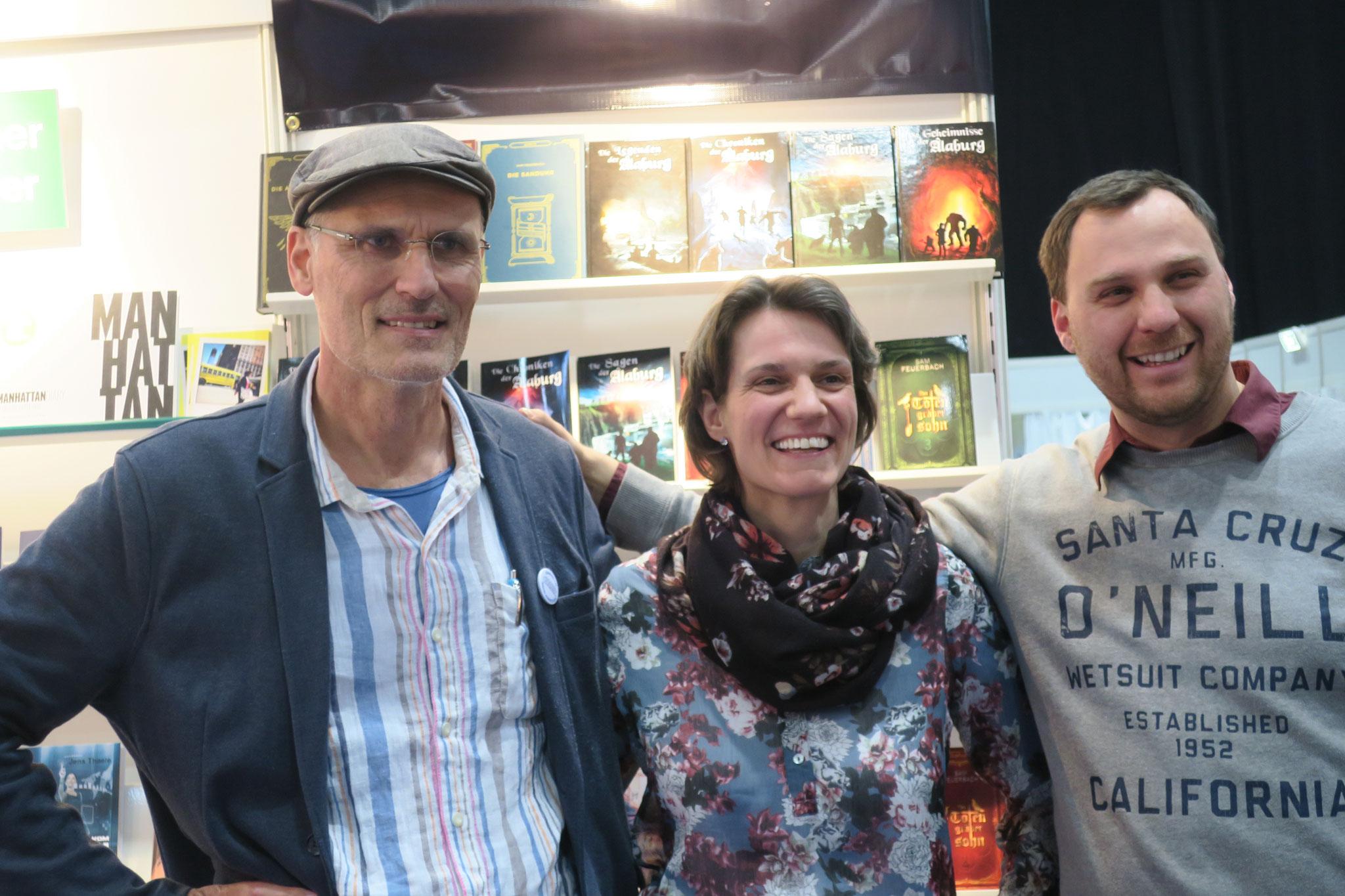 Sam mit Johanna Benden und Greg Walters