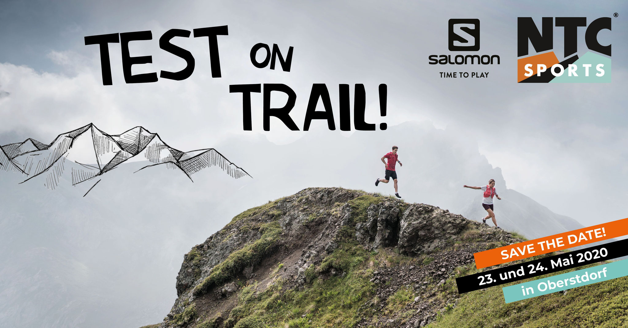 Test on Trail powered by NTC SPORTS und SALOMON