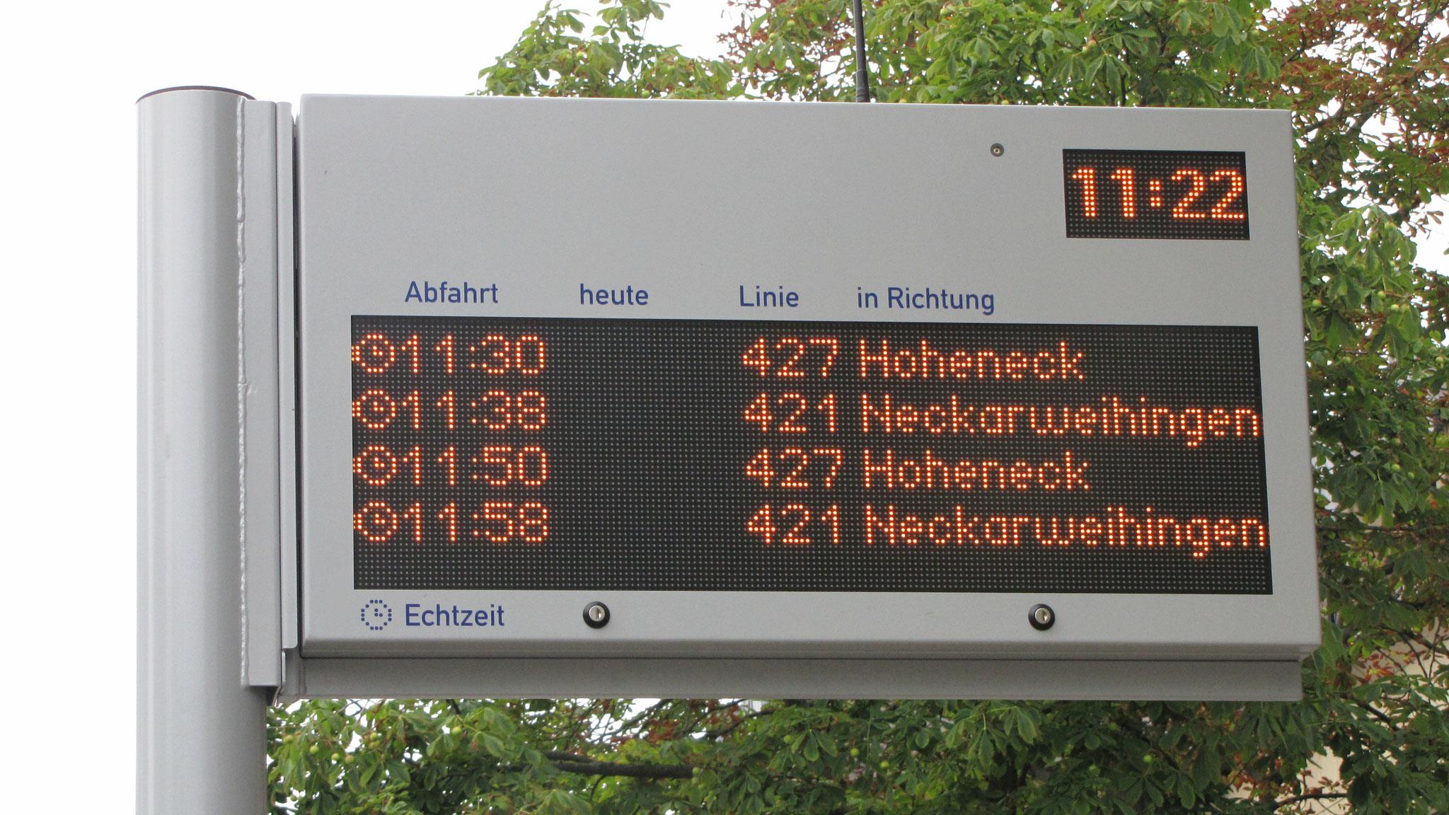 LED display Ludwigsburg