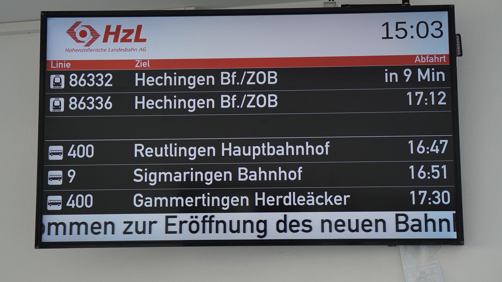 Indoor-TFT Gammertingen