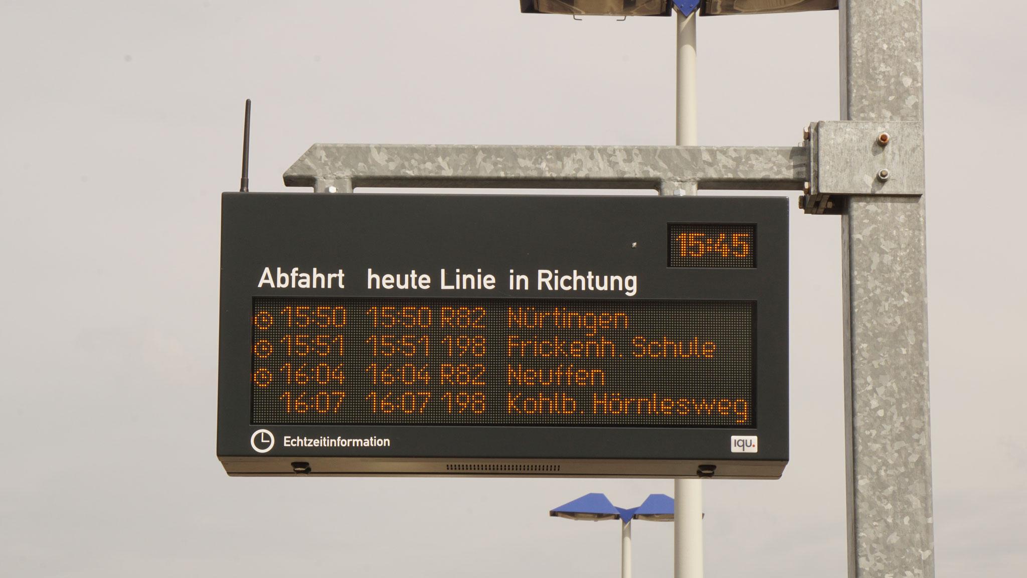 LED display Frickenhausen