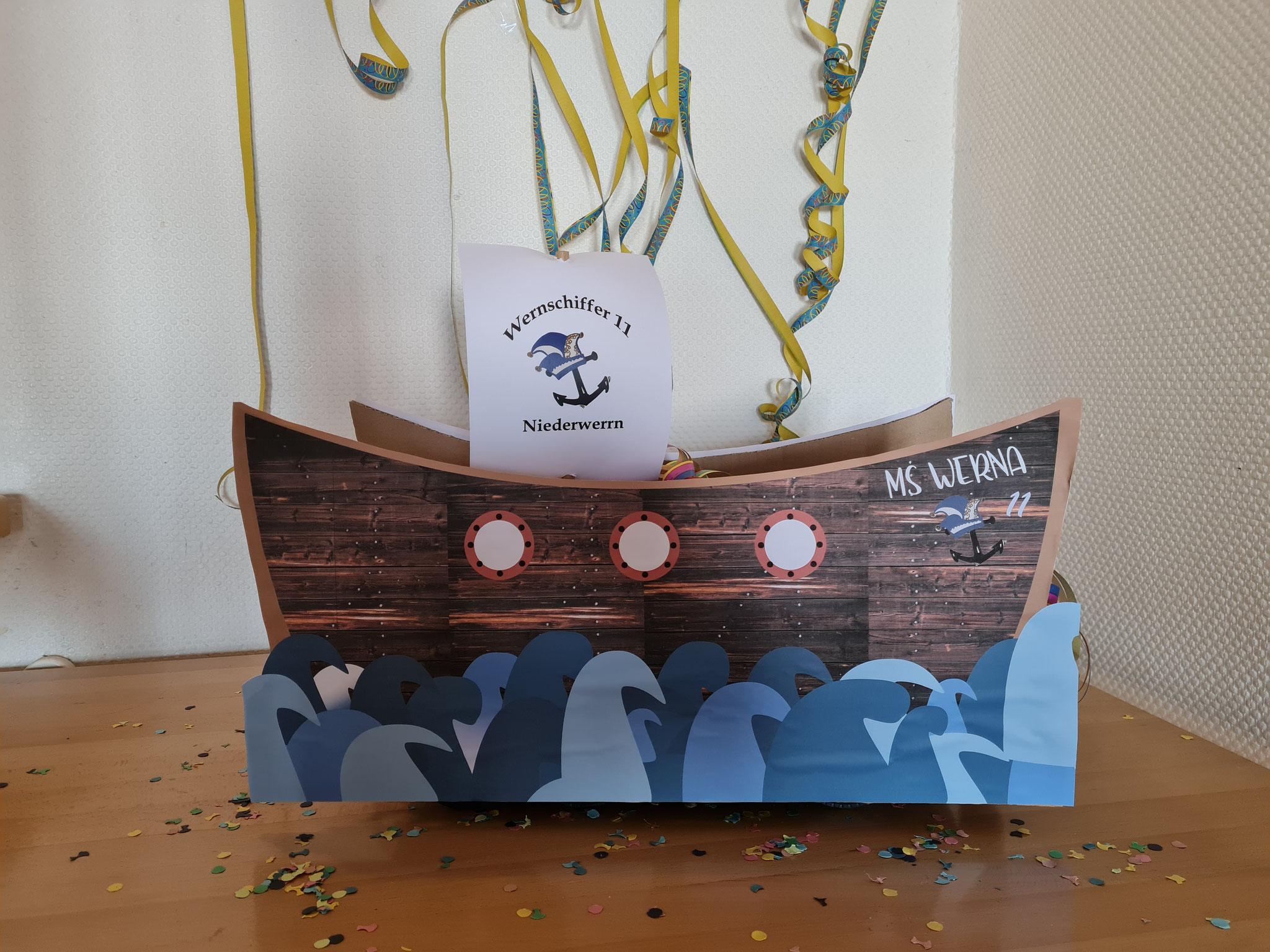 MS WERNA - unser Narrenschiff - Werrnschiffer 11 Niederwerrn