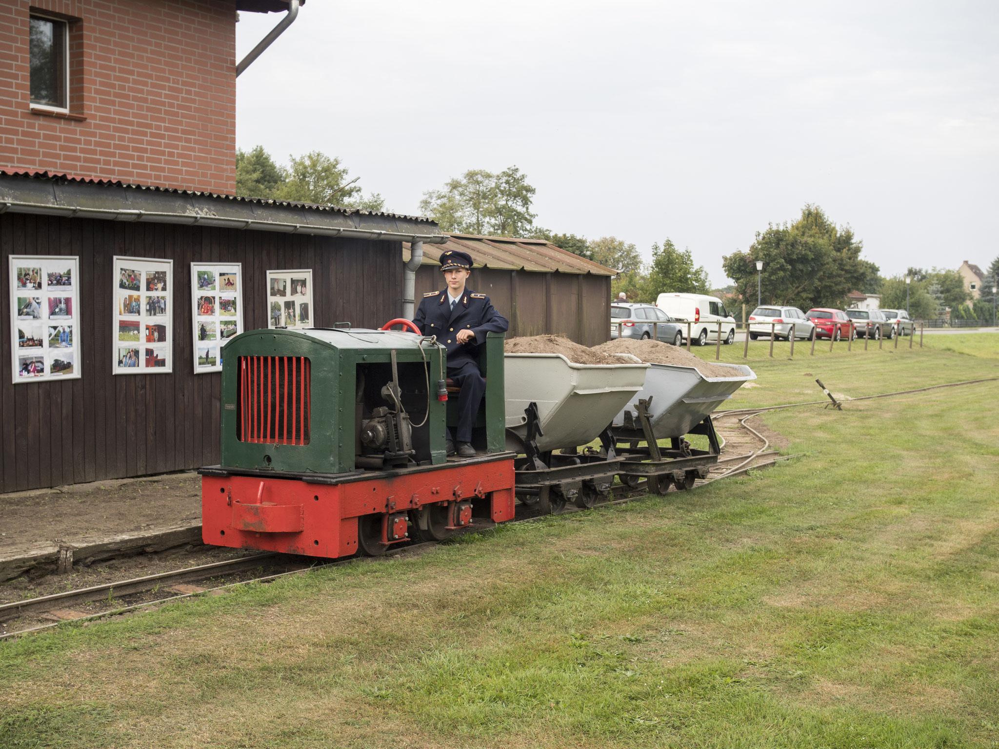 Feldbahn in Lindenberg I