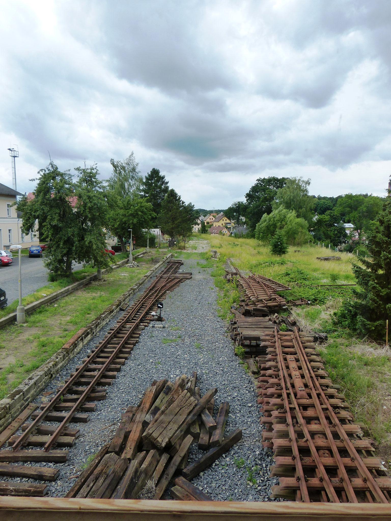 Schmalspurpersonenbahnhof Friedland