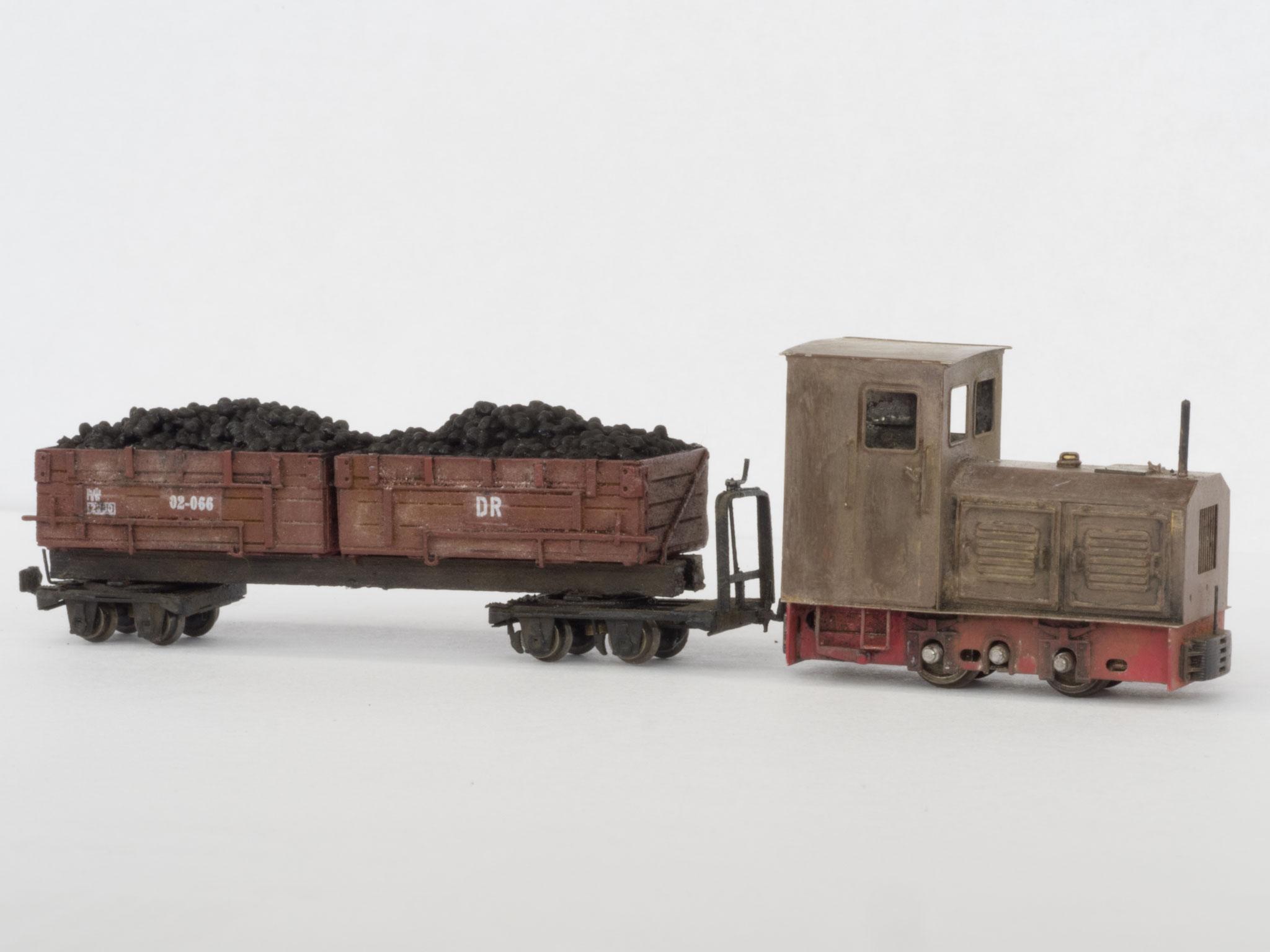 Ns2h und Kohlewagen Reihe 02