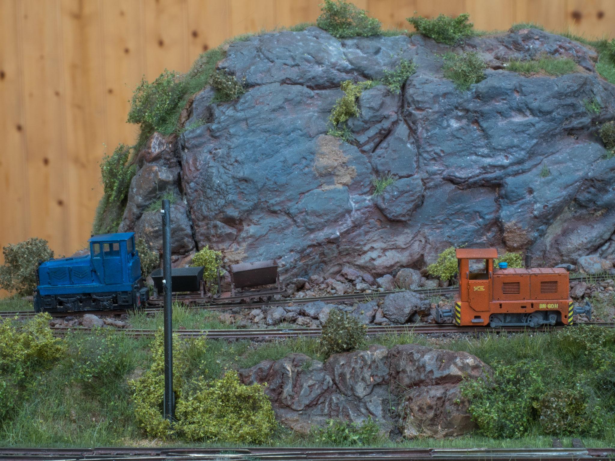 TTf-Modelle im Steinbruch