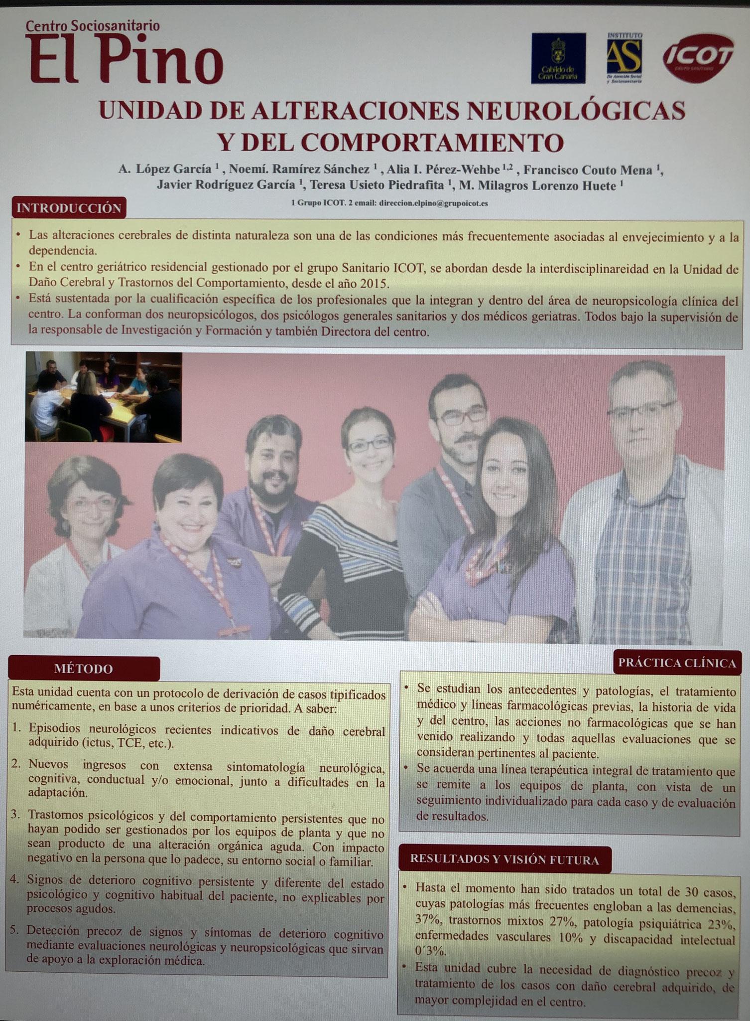 Voluntarios en el Centro Sociosanitario El Pino.