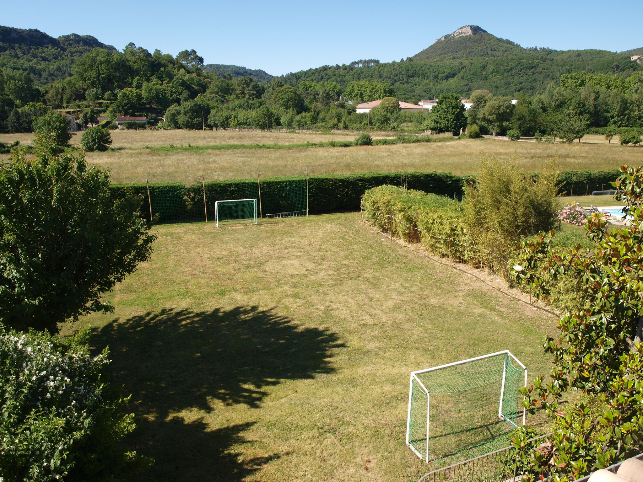 mini terrain de foot