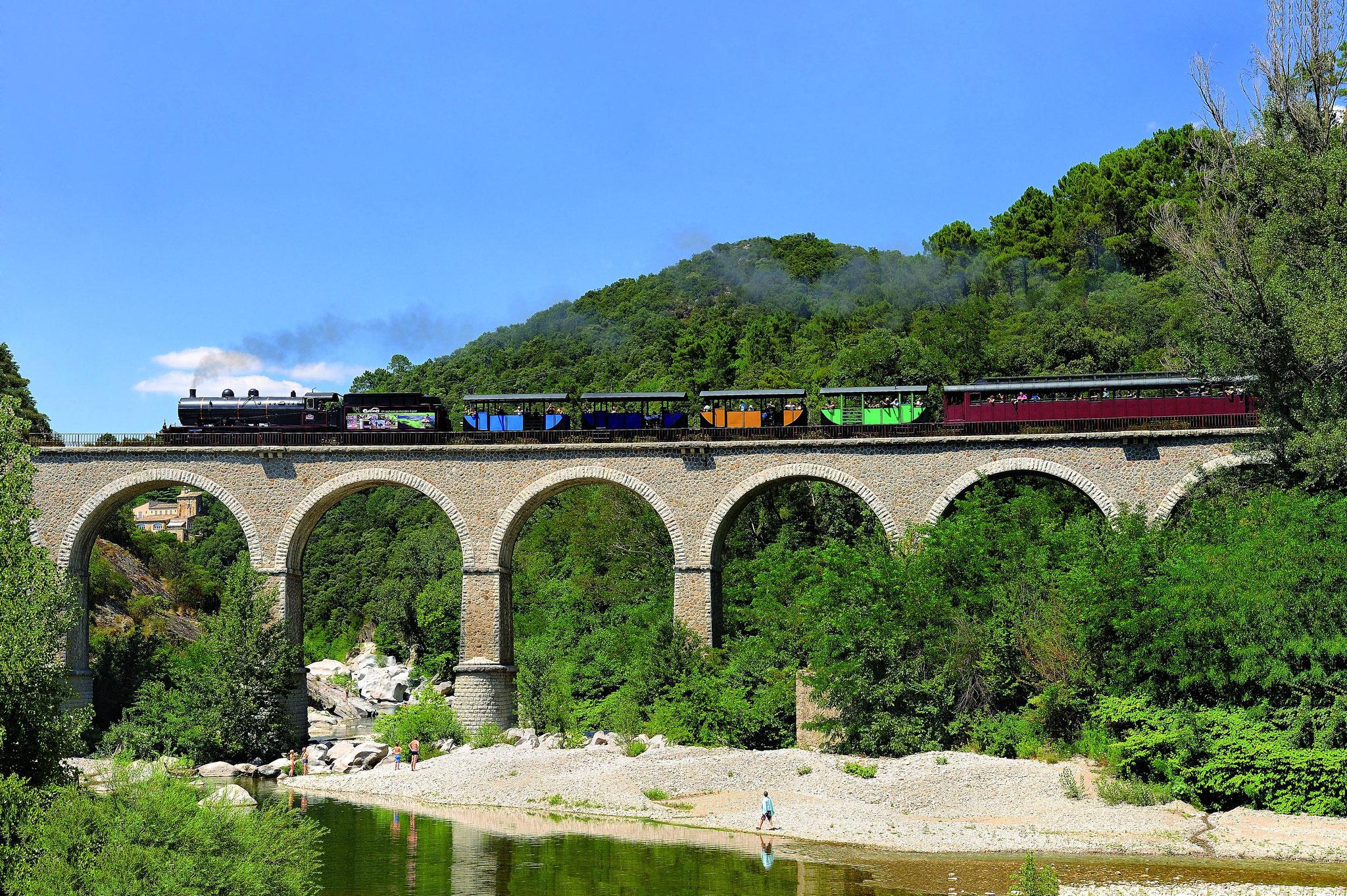 Le petit train à vapeur des Cévennes