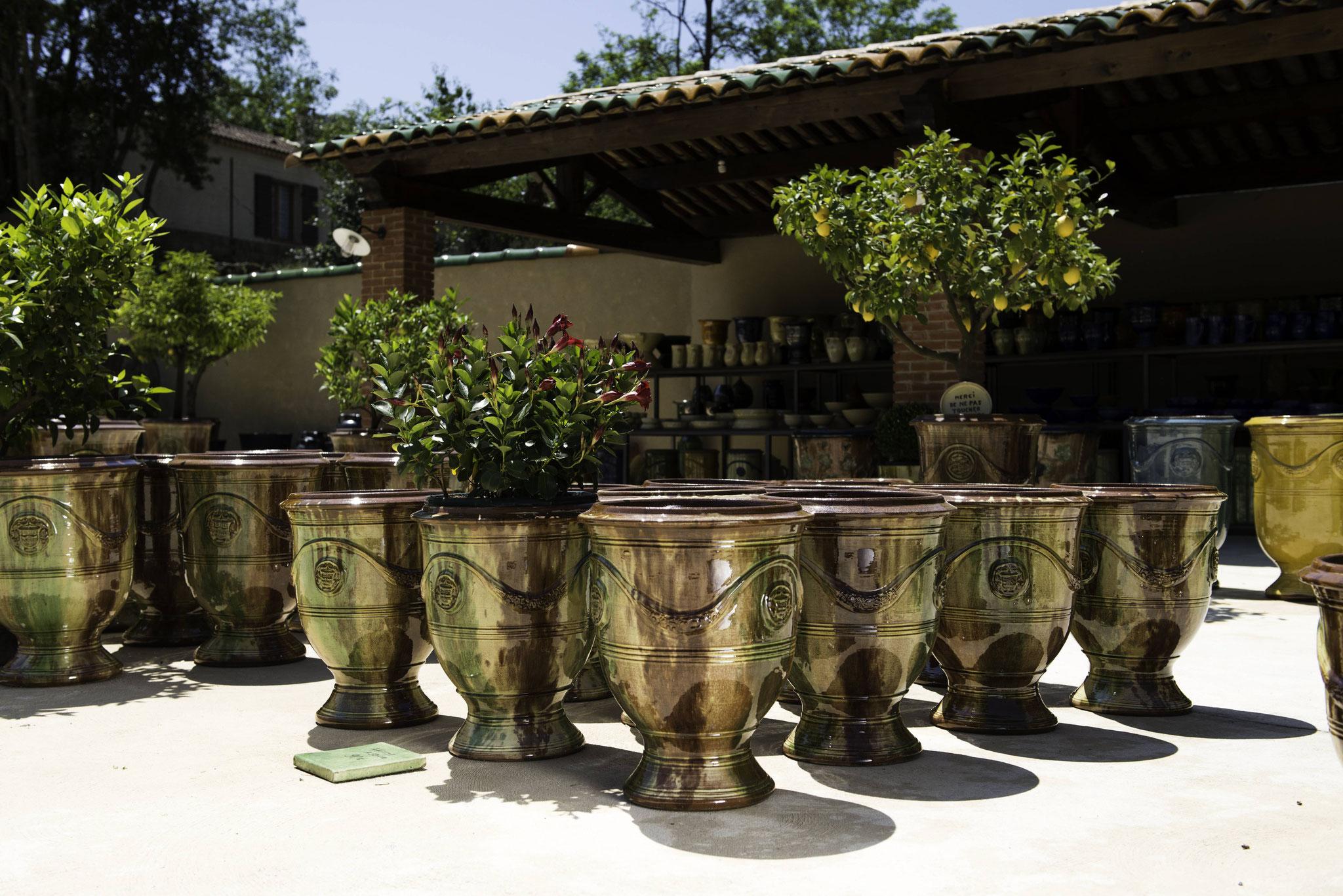 Les fameux vases d'Anduze