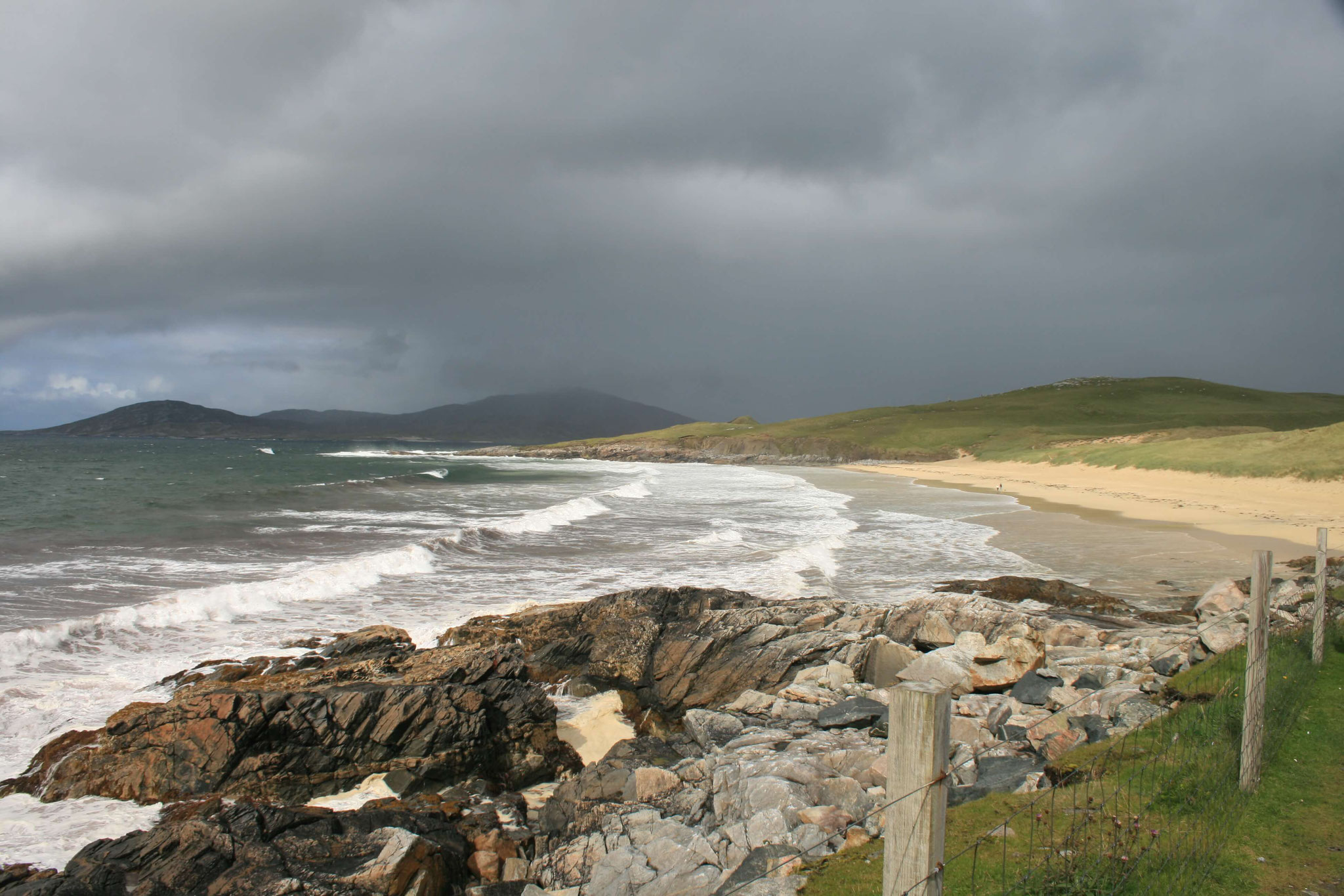 Stunning beaches on Harris