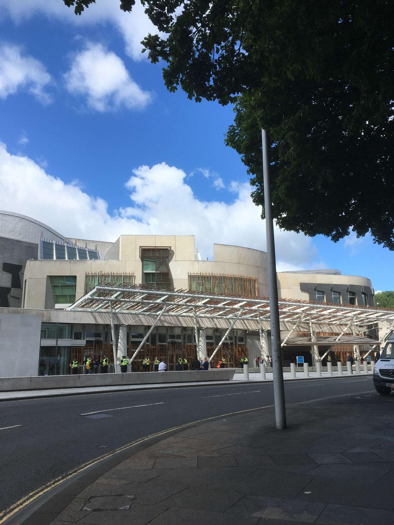 Scottish Parliament in Edinburgh