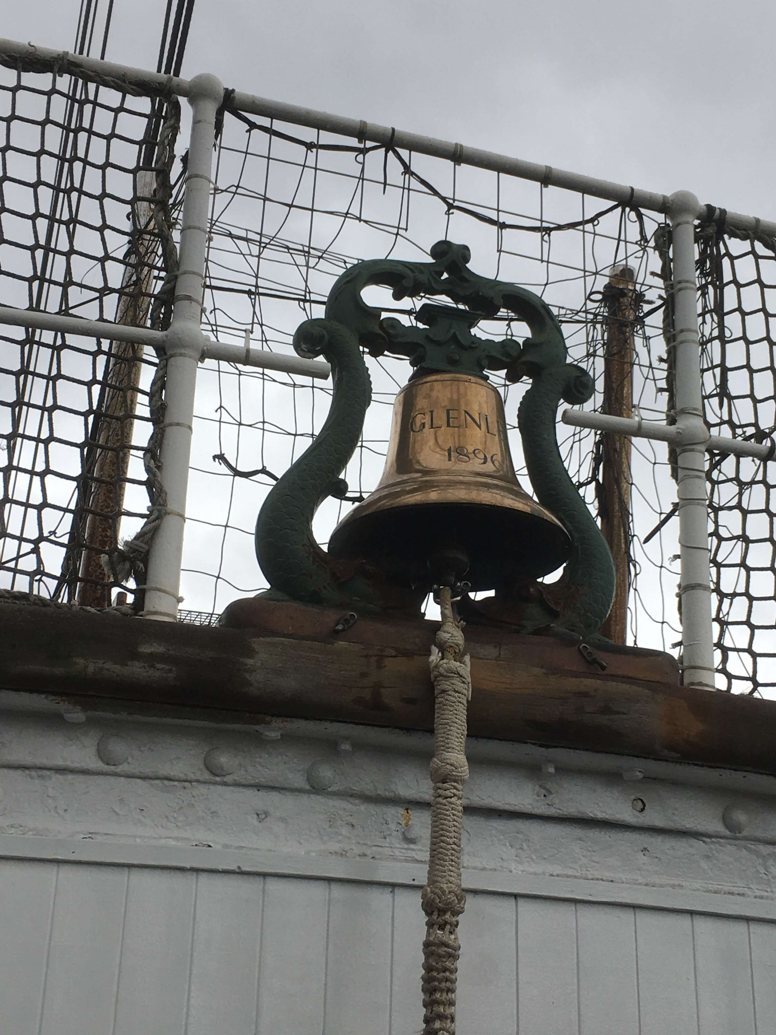 The Glenlee's ship's bell