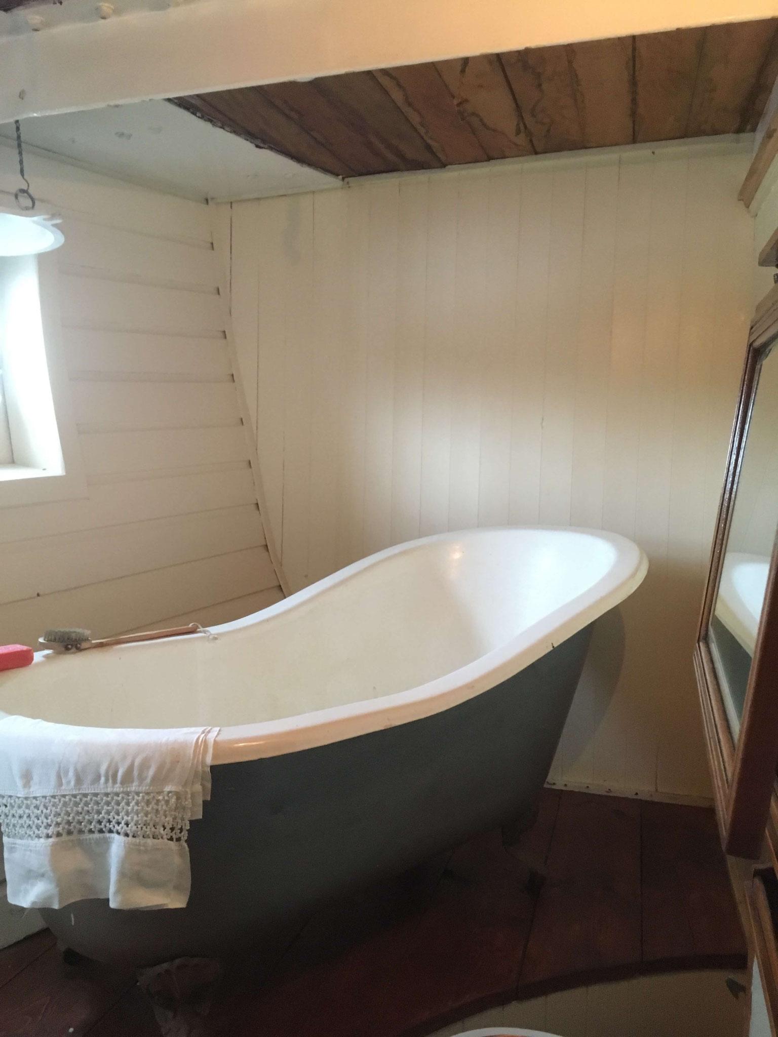 Der Kapitän der Glenlee hatte sogar ein eigenes Bad