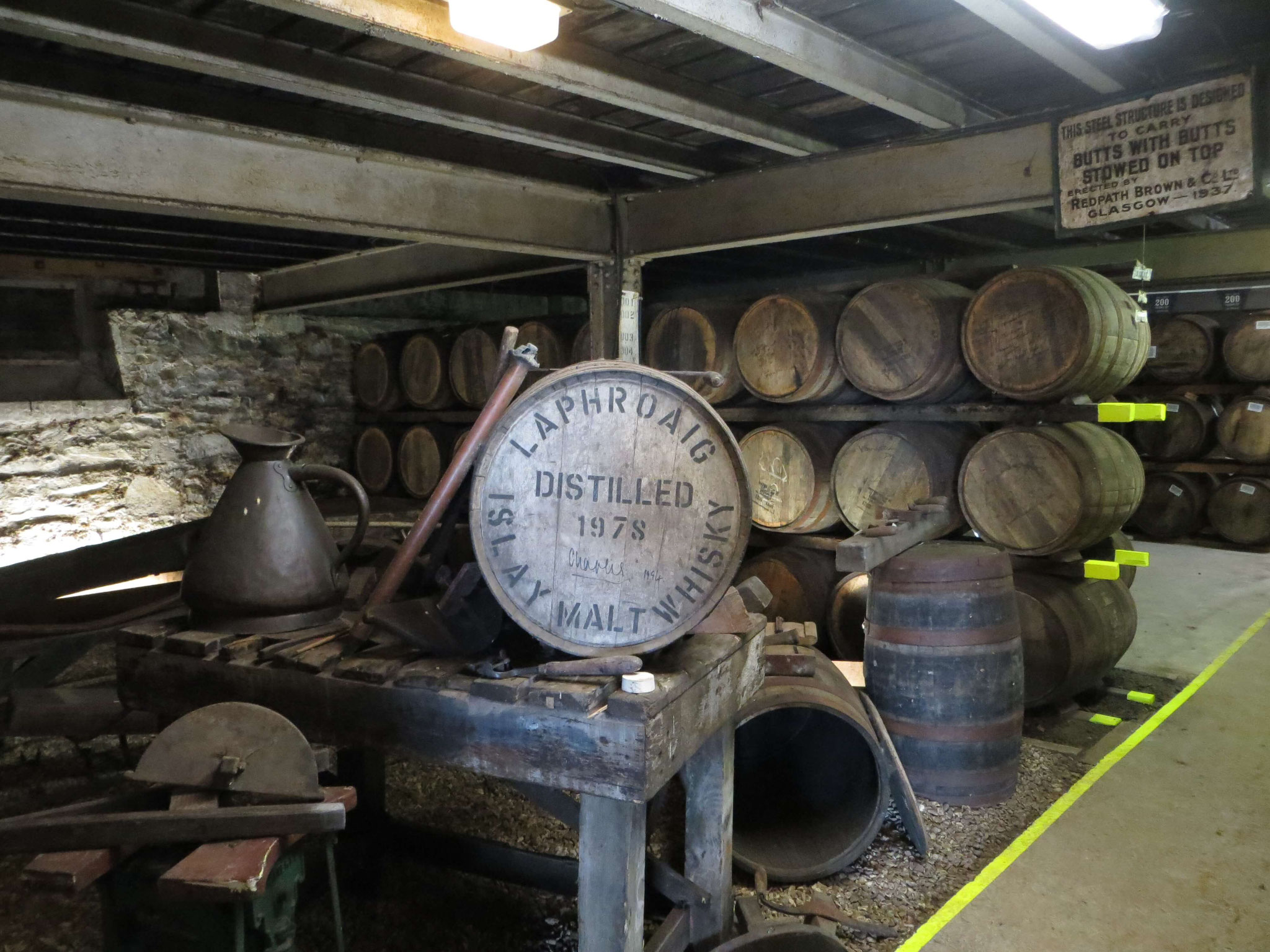 Laphroaig Warehouse