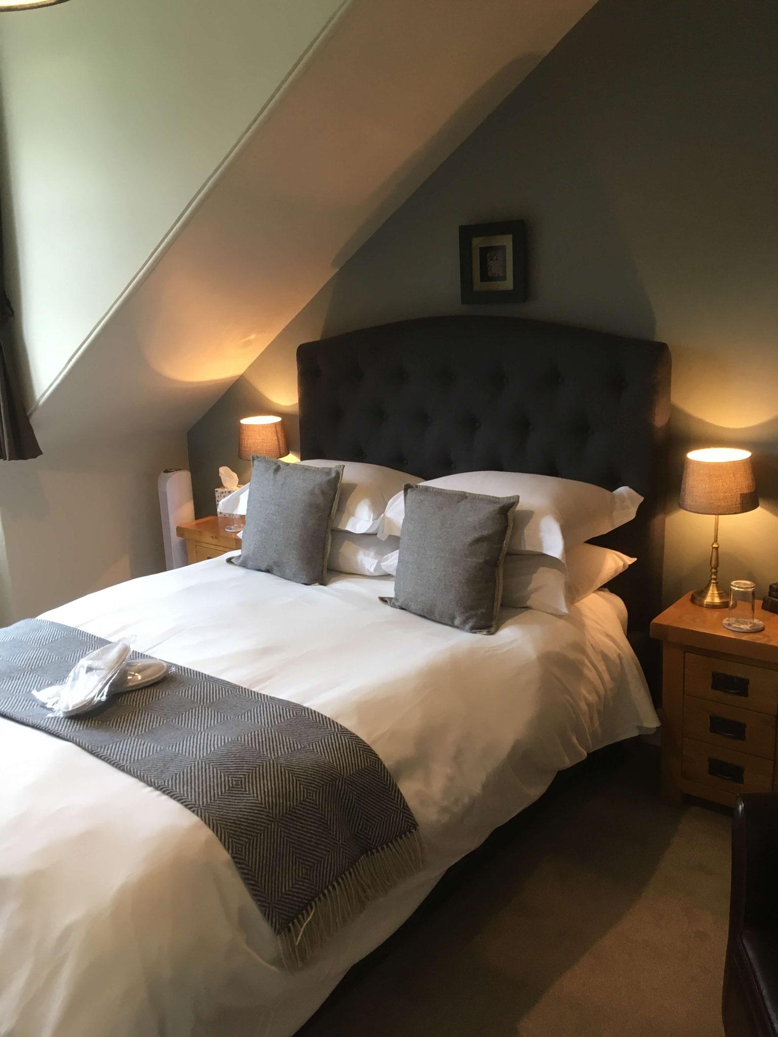 Unser Schlafzimmer in Ashfield House