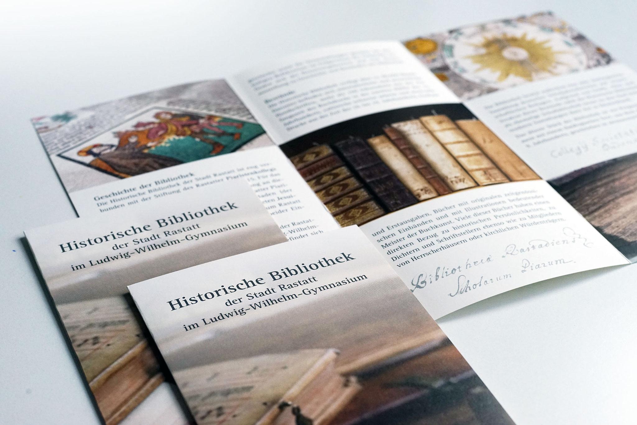 Infobroschüre Historische Bibliothek
