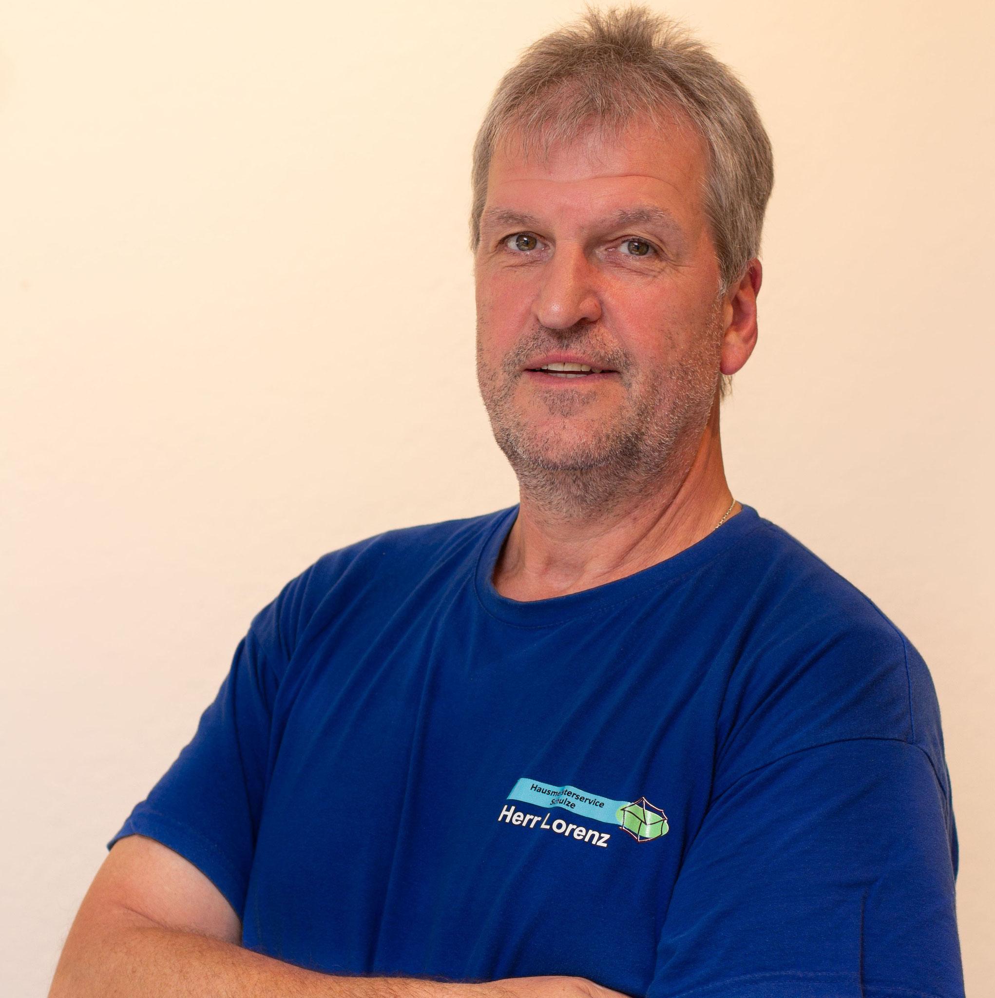 Herr Lorenz - Haustechniker