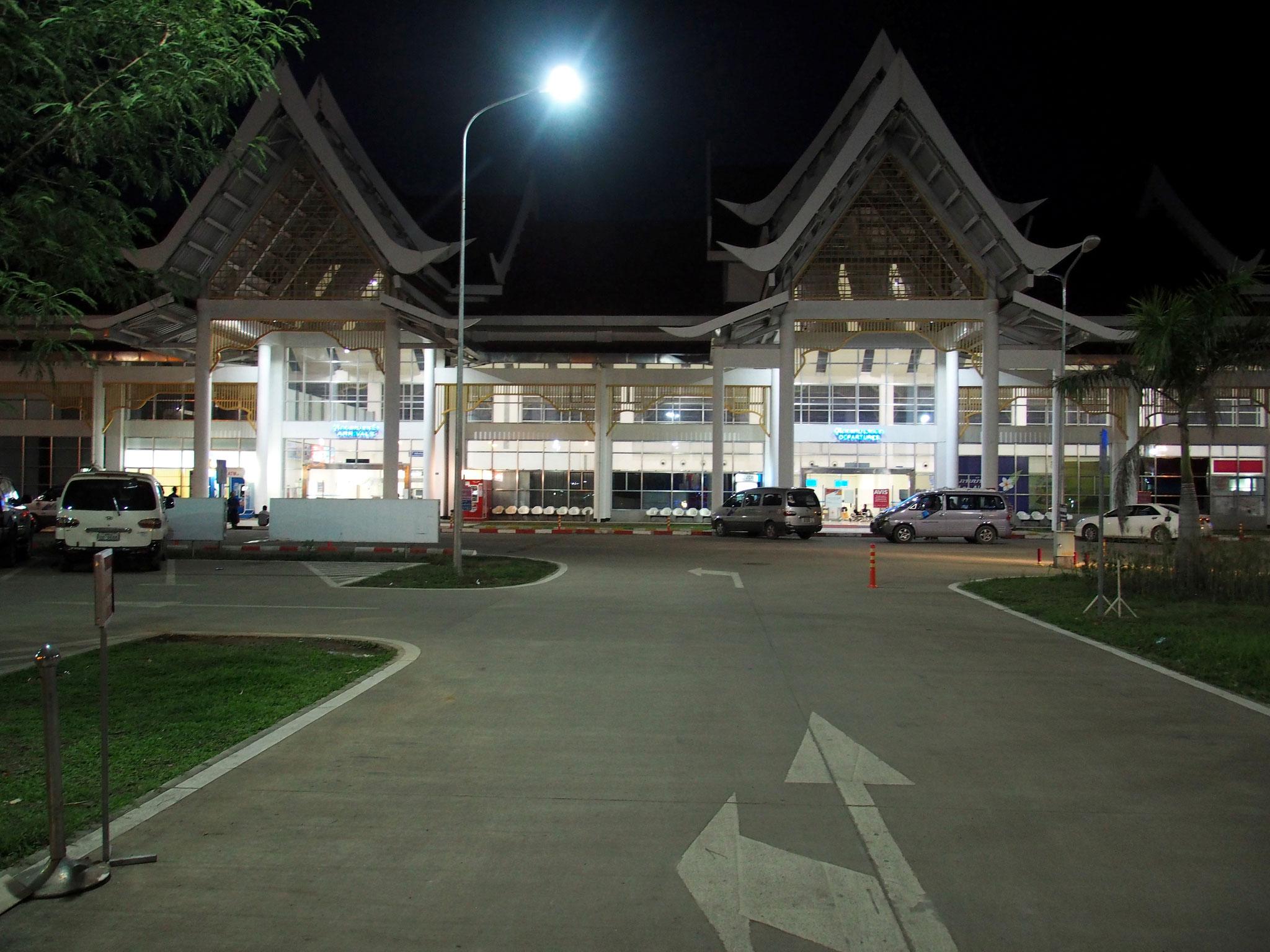 Sympathisch - Flughafen in Luang Prabang