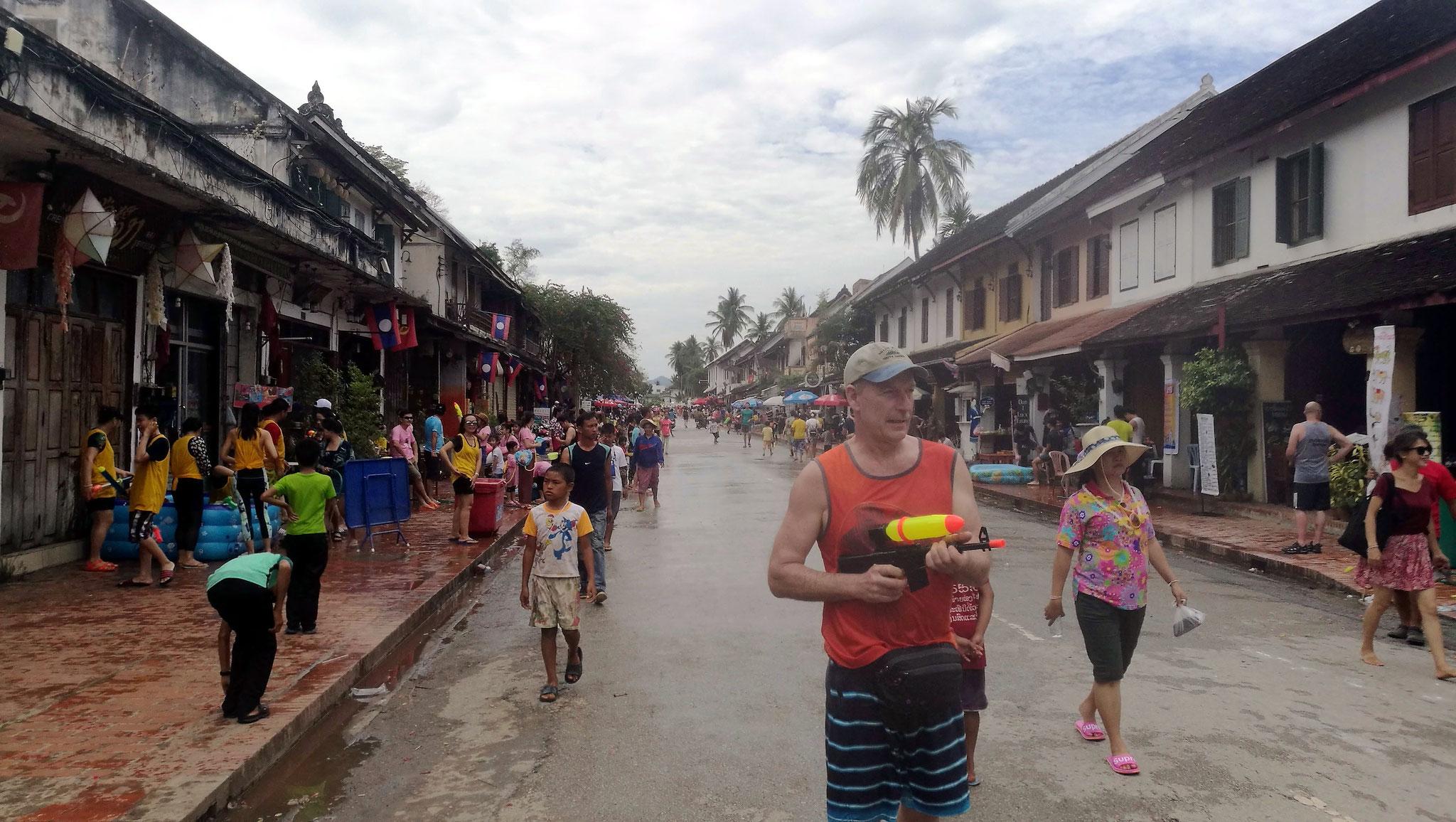 ... in der familiären Athmosphäre Luang Prabangs