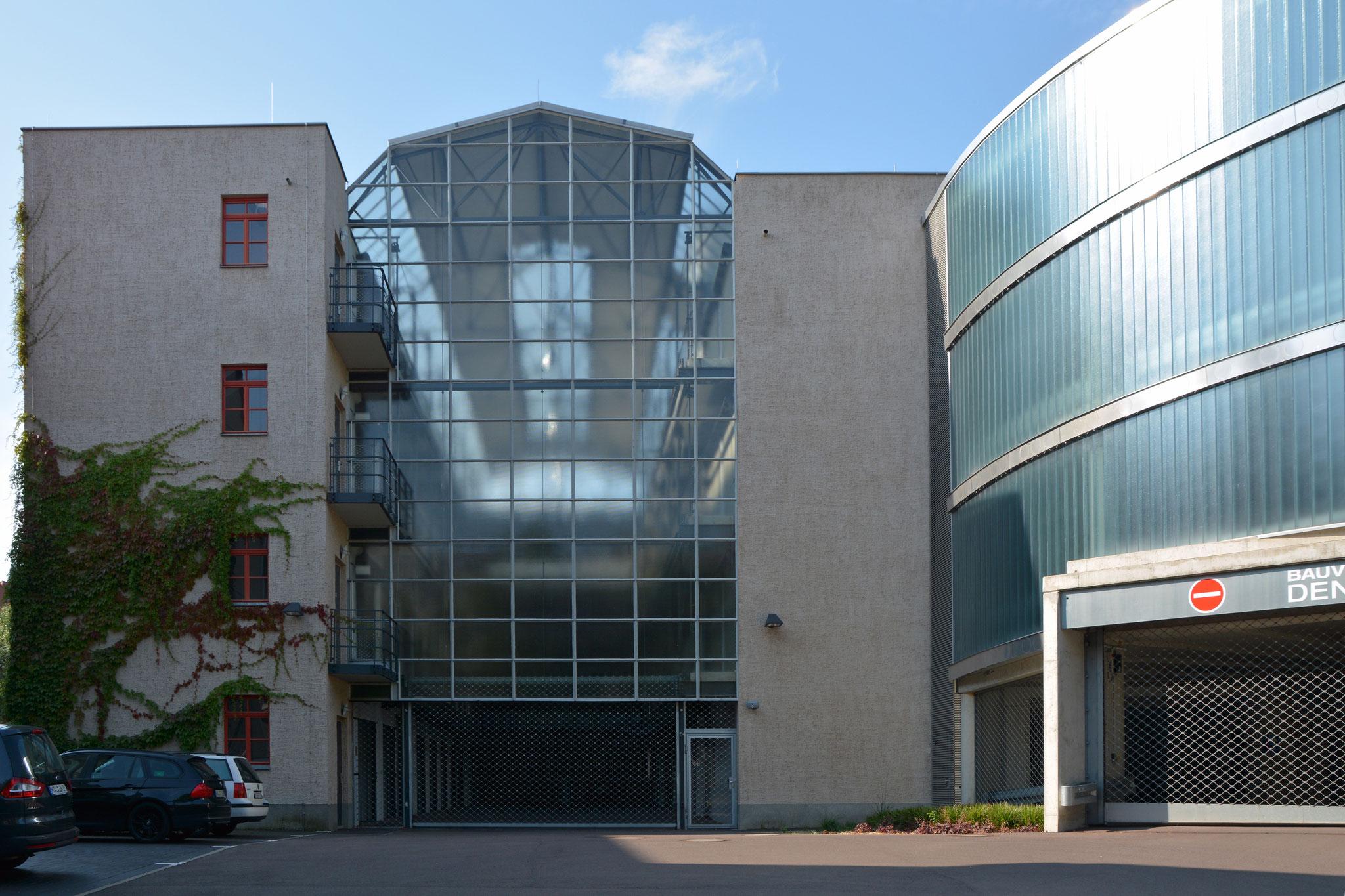 die Großgarage Süd in Halle