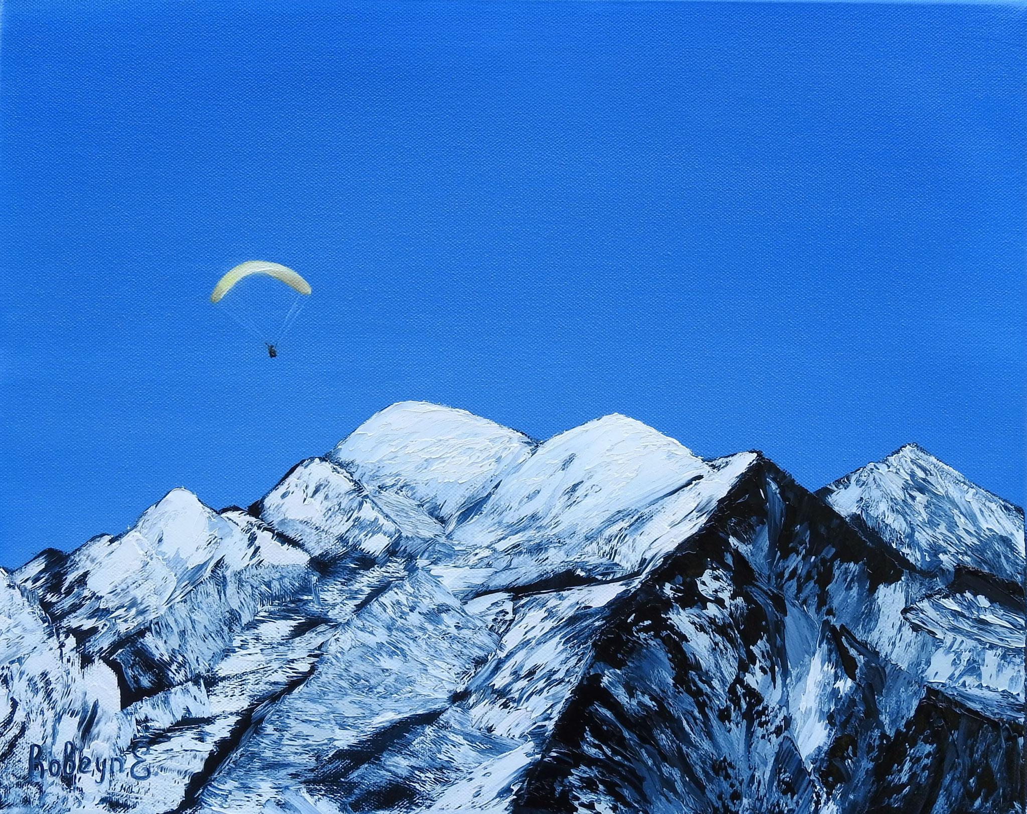 """Mont Blanc"" - oil, canvas 40Х50, 2016"