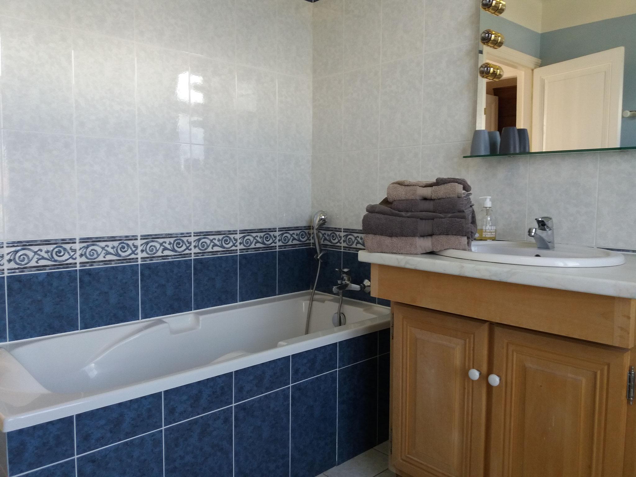 Chambre familiale Salle de bain privative