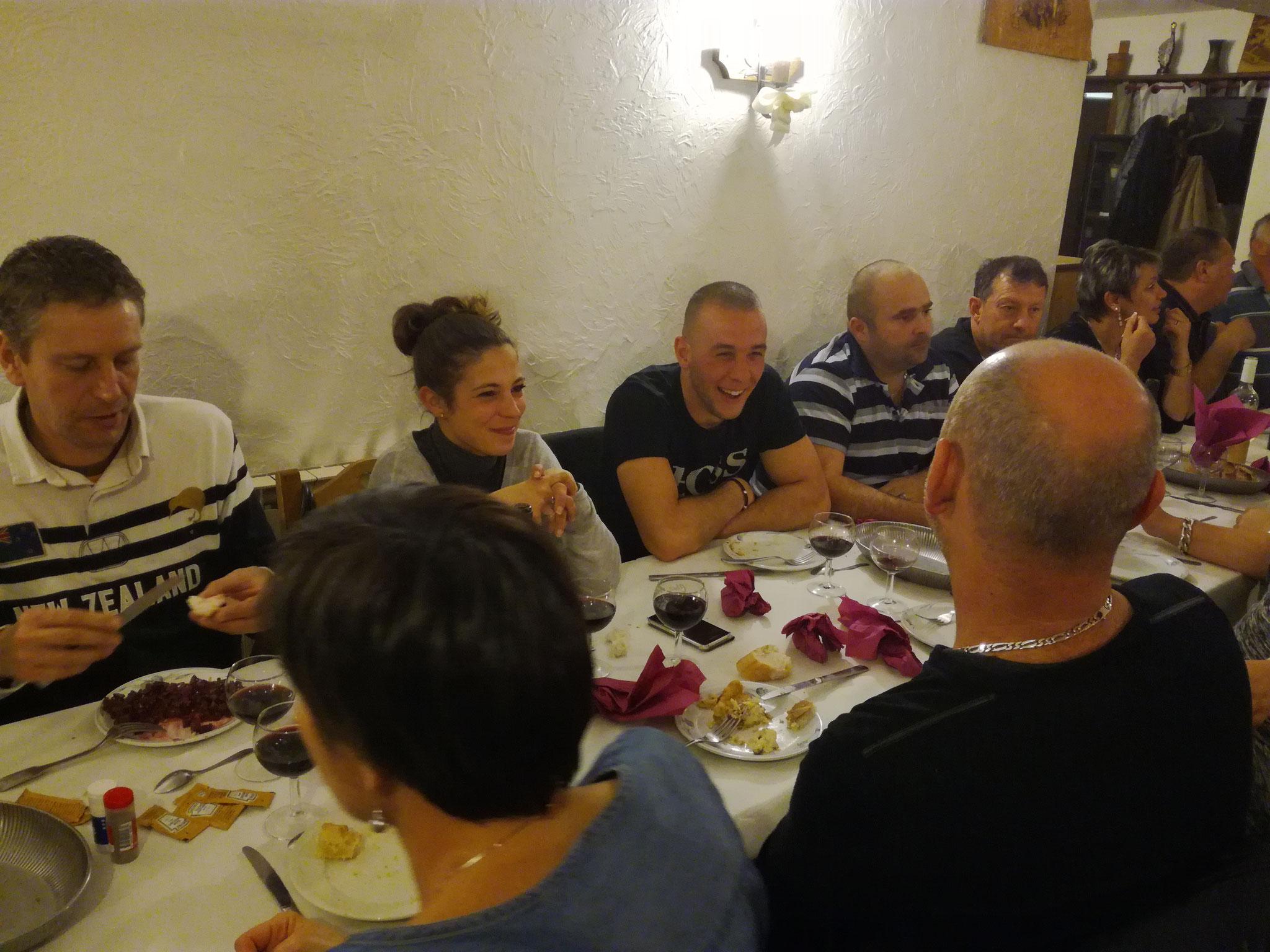 repas chez l'Arlette