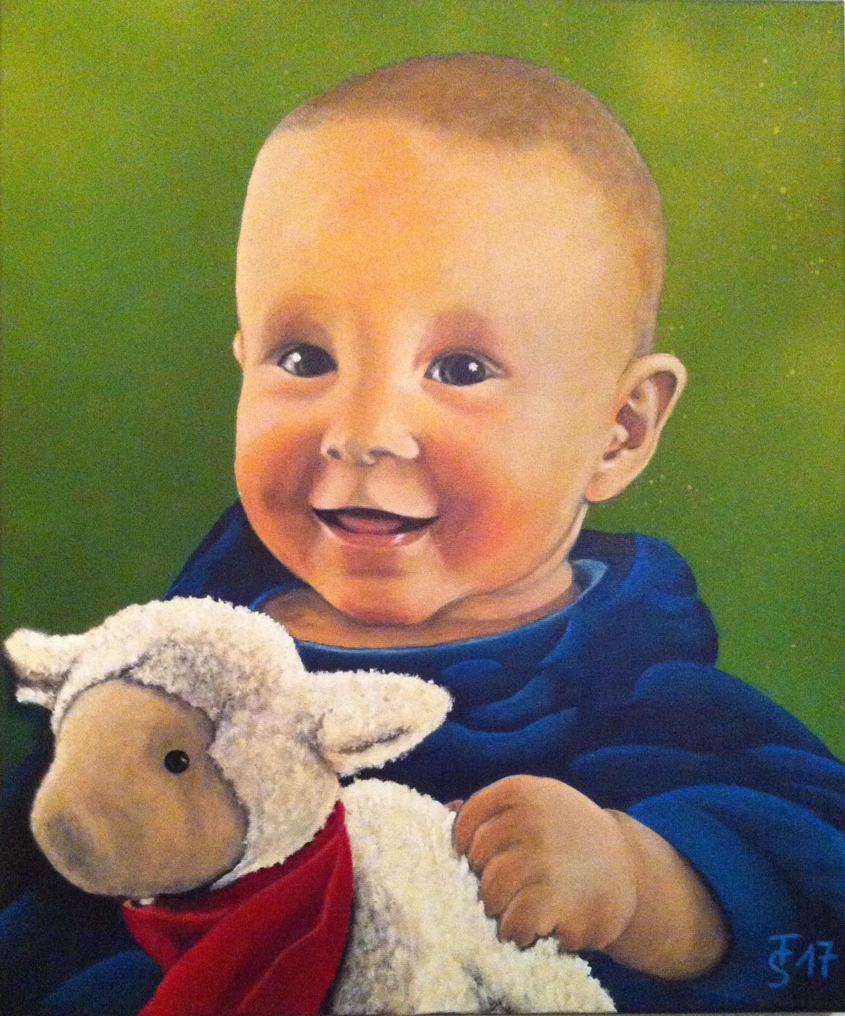 Jonas   _   (Acryl auf Leinwand, 50 x 60 cm)