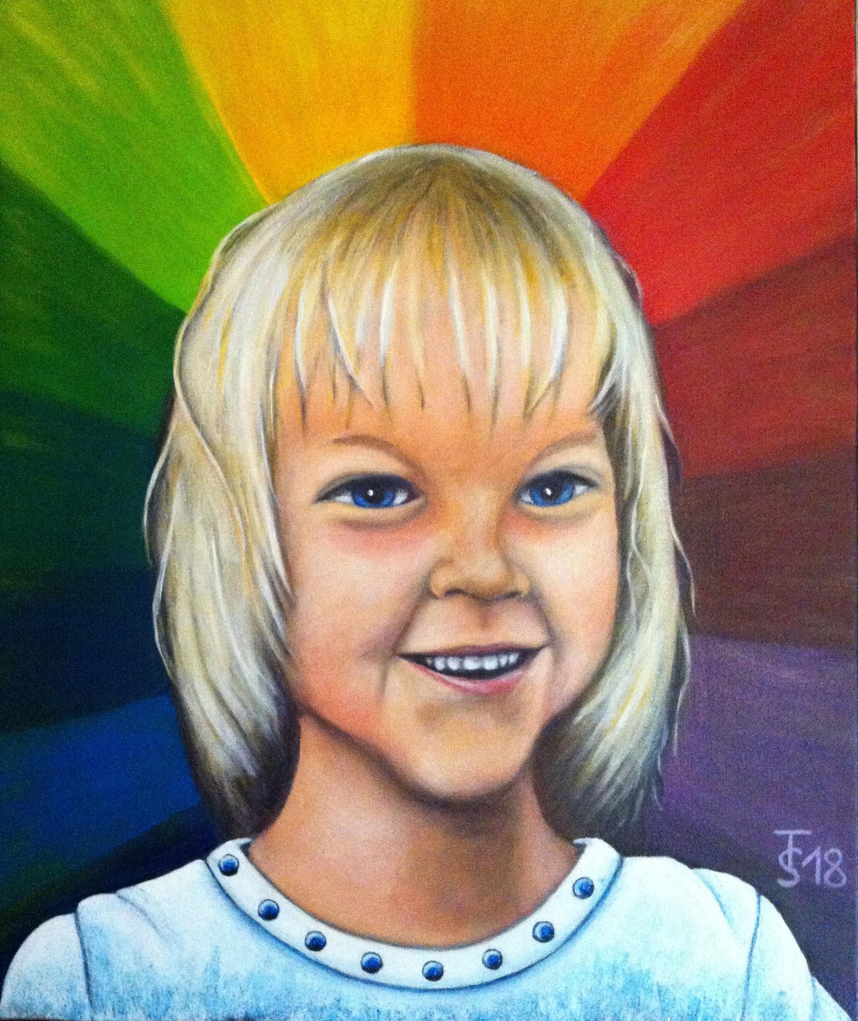 Charlotte  _  (Acryl auf Leinwand, 50 x 60 cm)