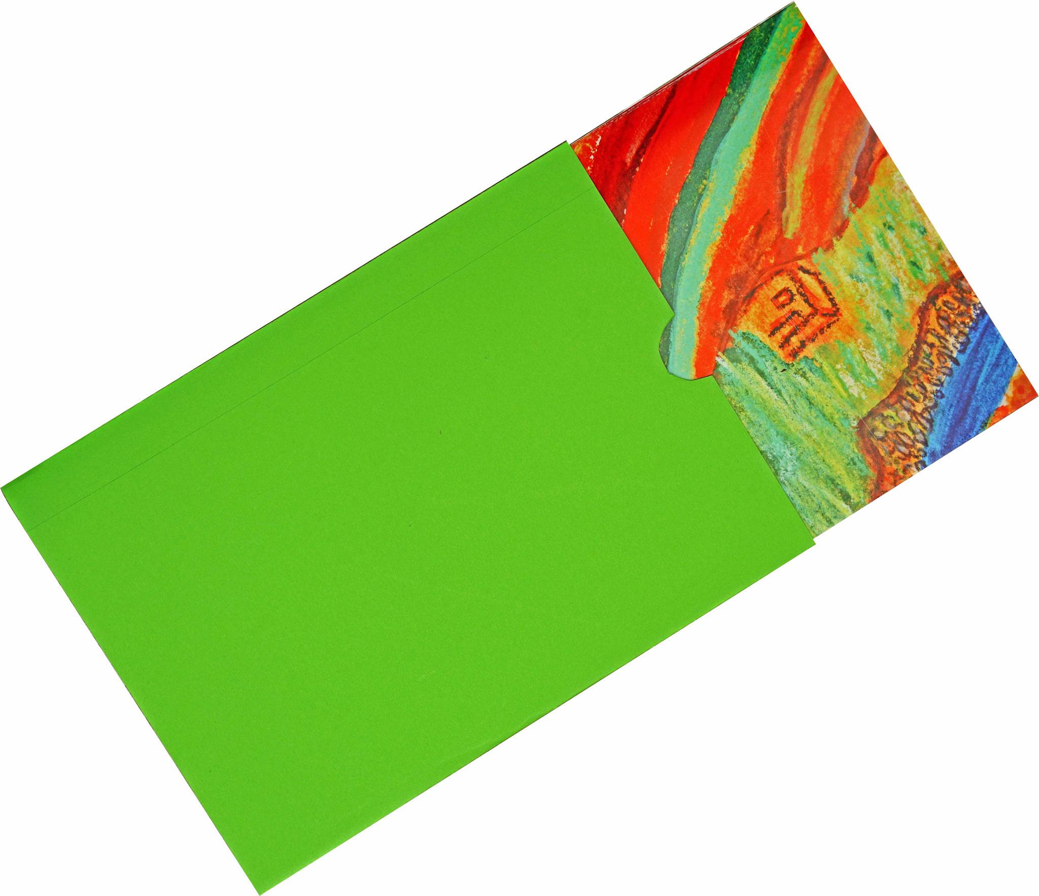 Doppelkarte mit Kuvert