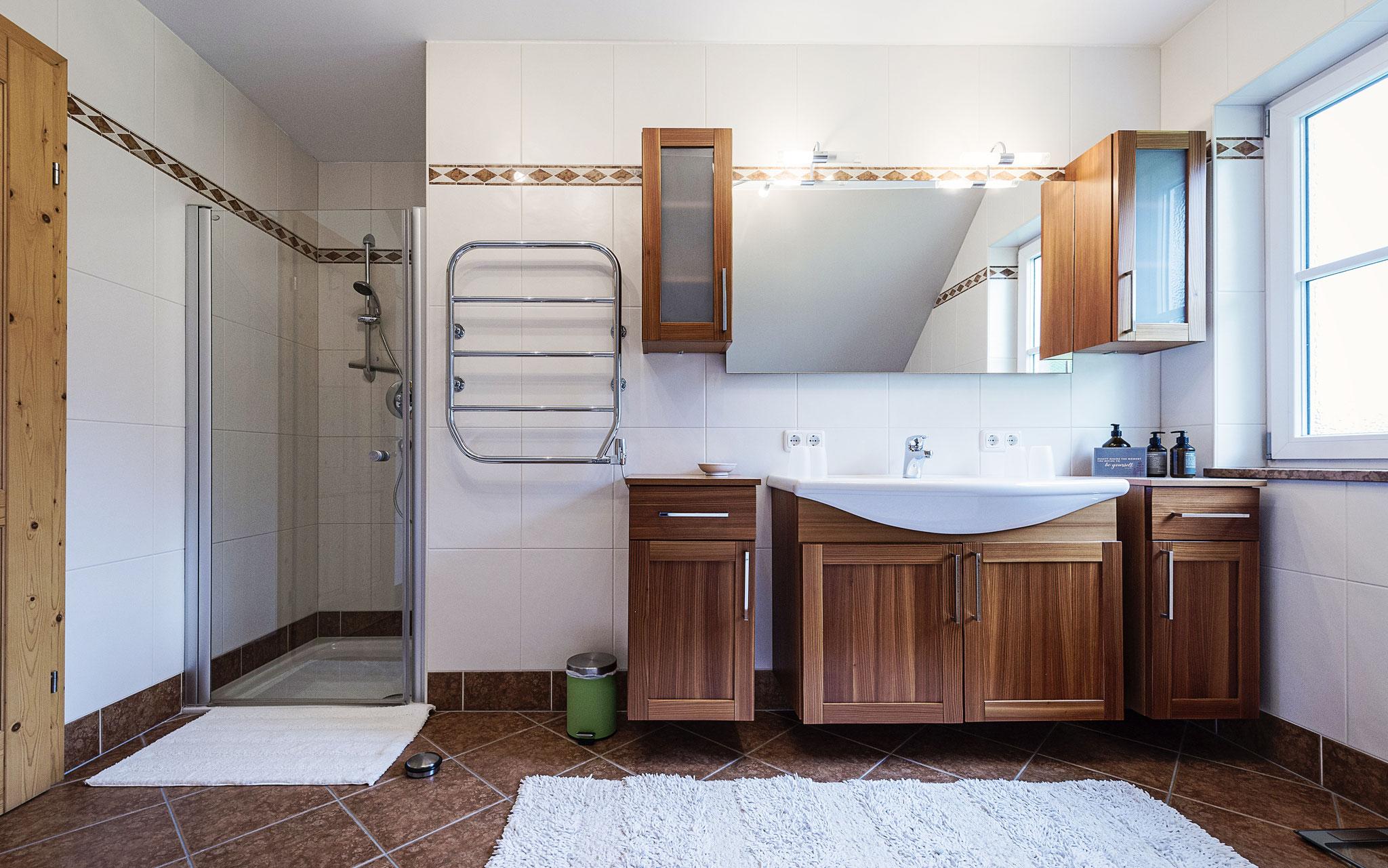 Badezimmer Ferienhaus Ausseerland