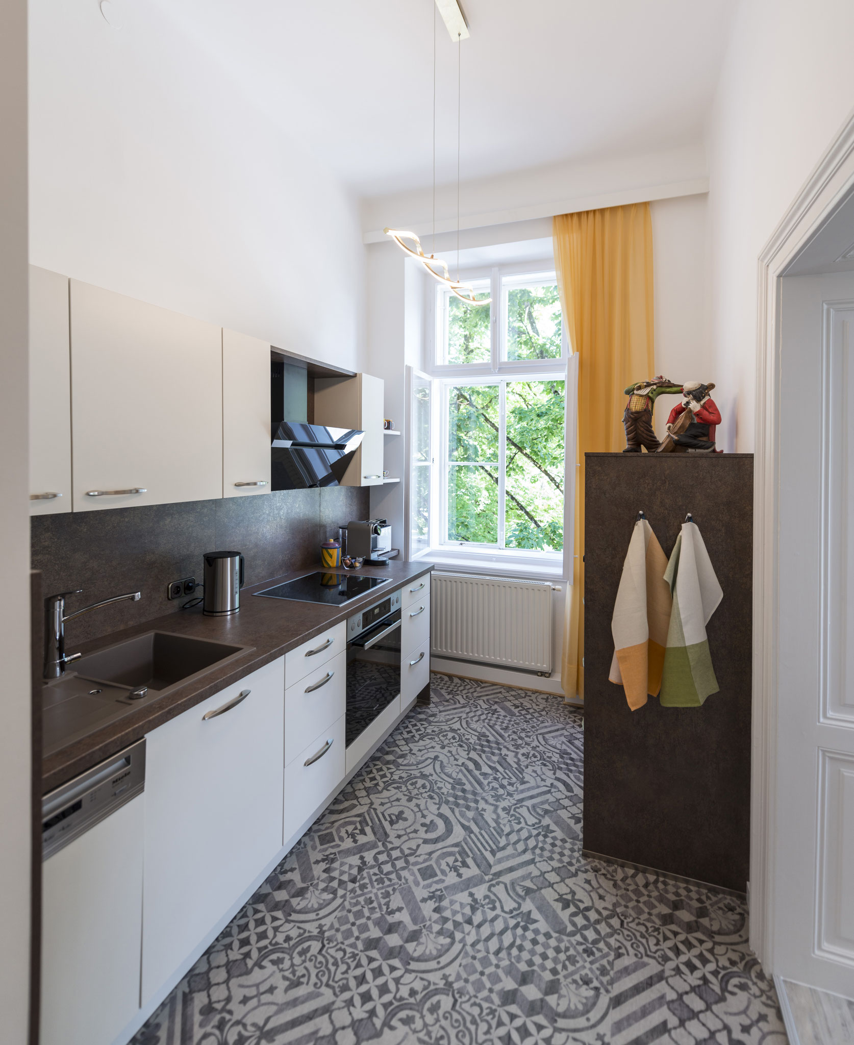 Küche Ferienwohnung Bad Ischl