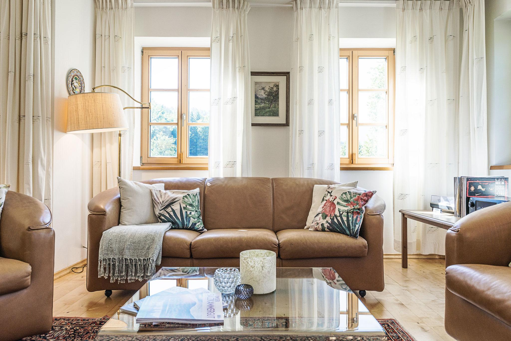Wohnzimmer Ferienhaus Salzkammergut