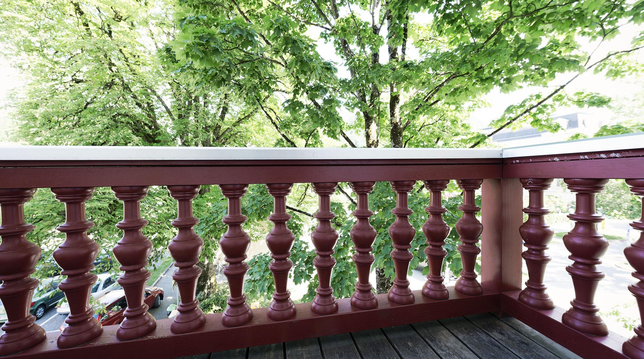 Balkon Schlafzimmer Apartment Bad Ischl