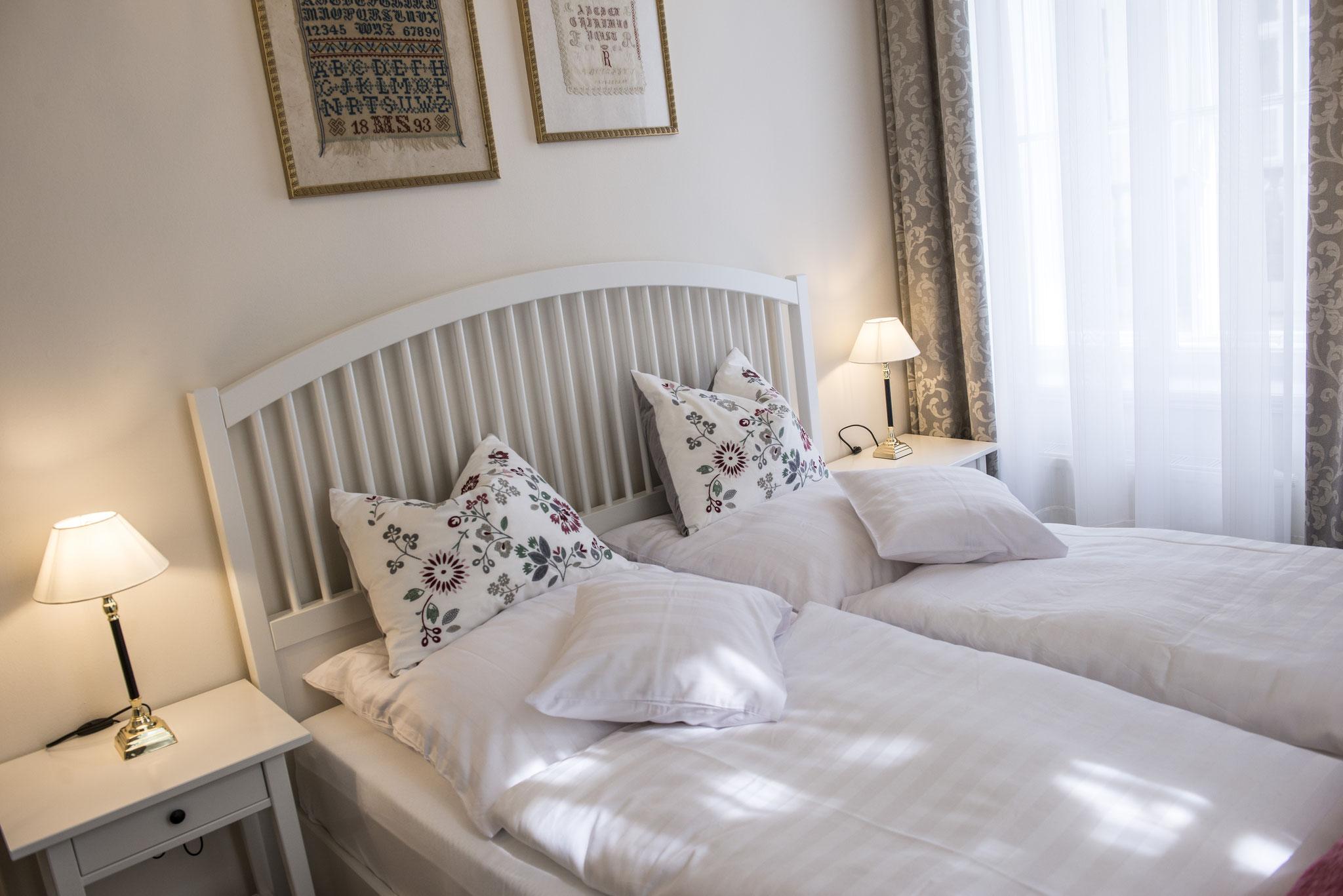 Schlafzimmer Apartment Kleinod