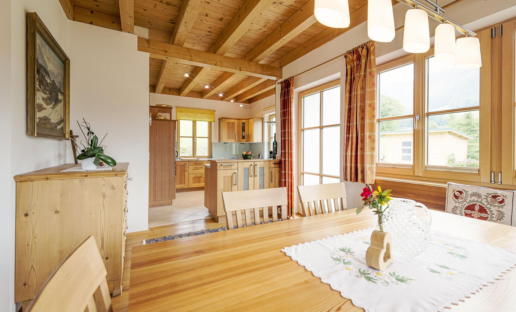 Wohnküche Ferienhaus Ausseerland