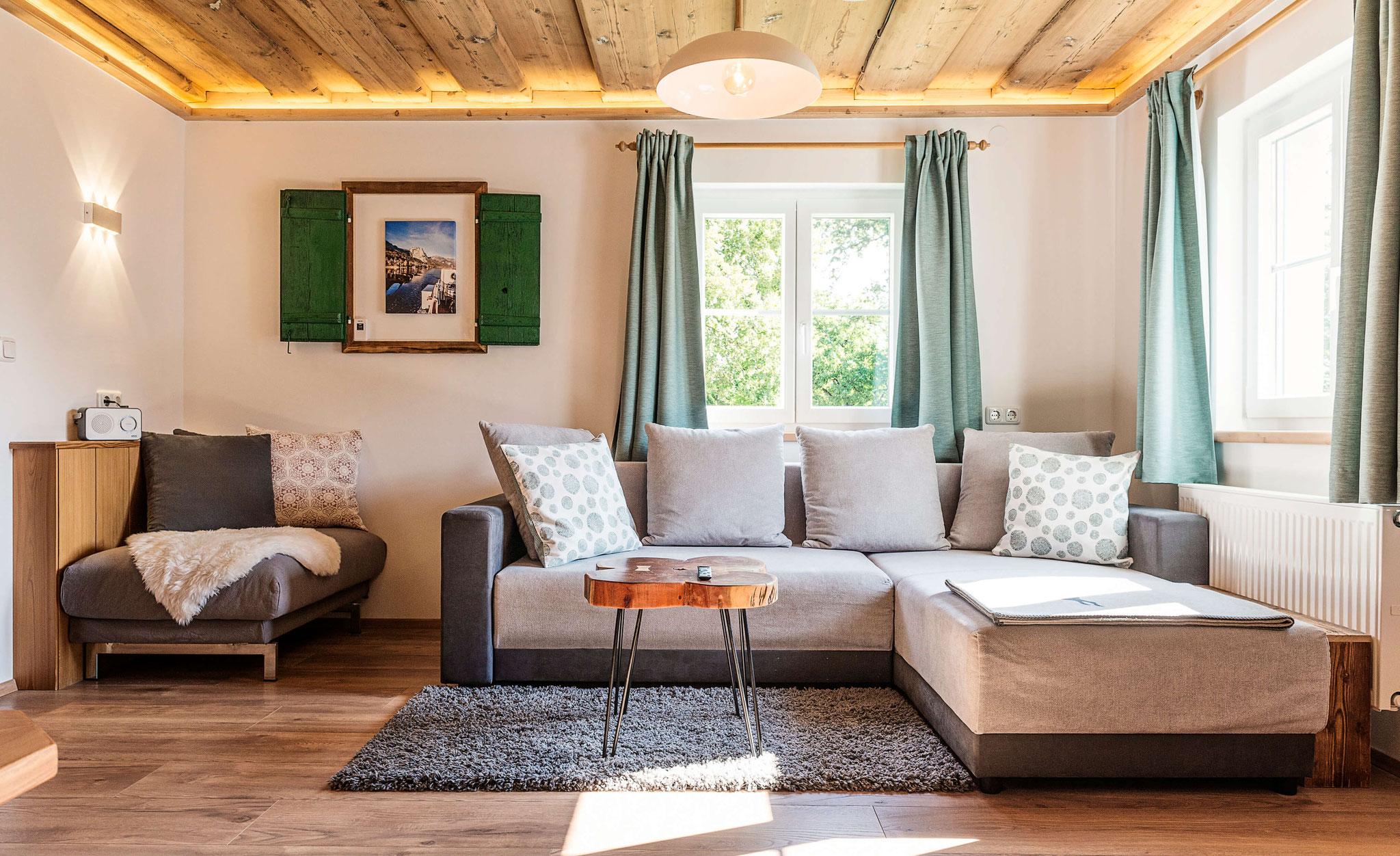 Wohnzimmer MaMis Ferienwohnung