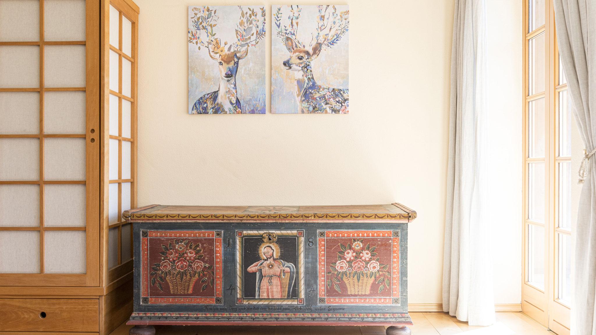 Detail Schlafzimmer Villa Anna