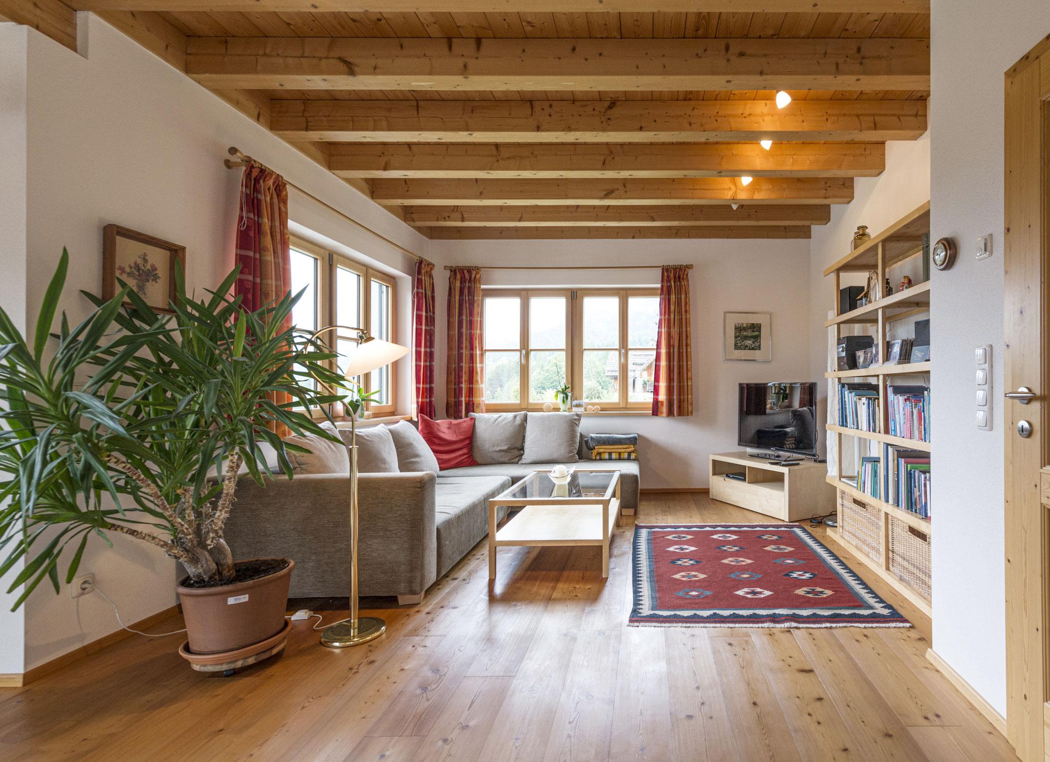 Wohnzimmer Ferienhaus Ausseerland