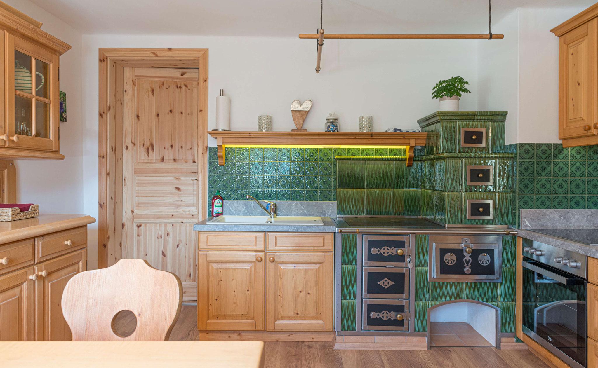 Küche Ferienwohnung Grundlsee