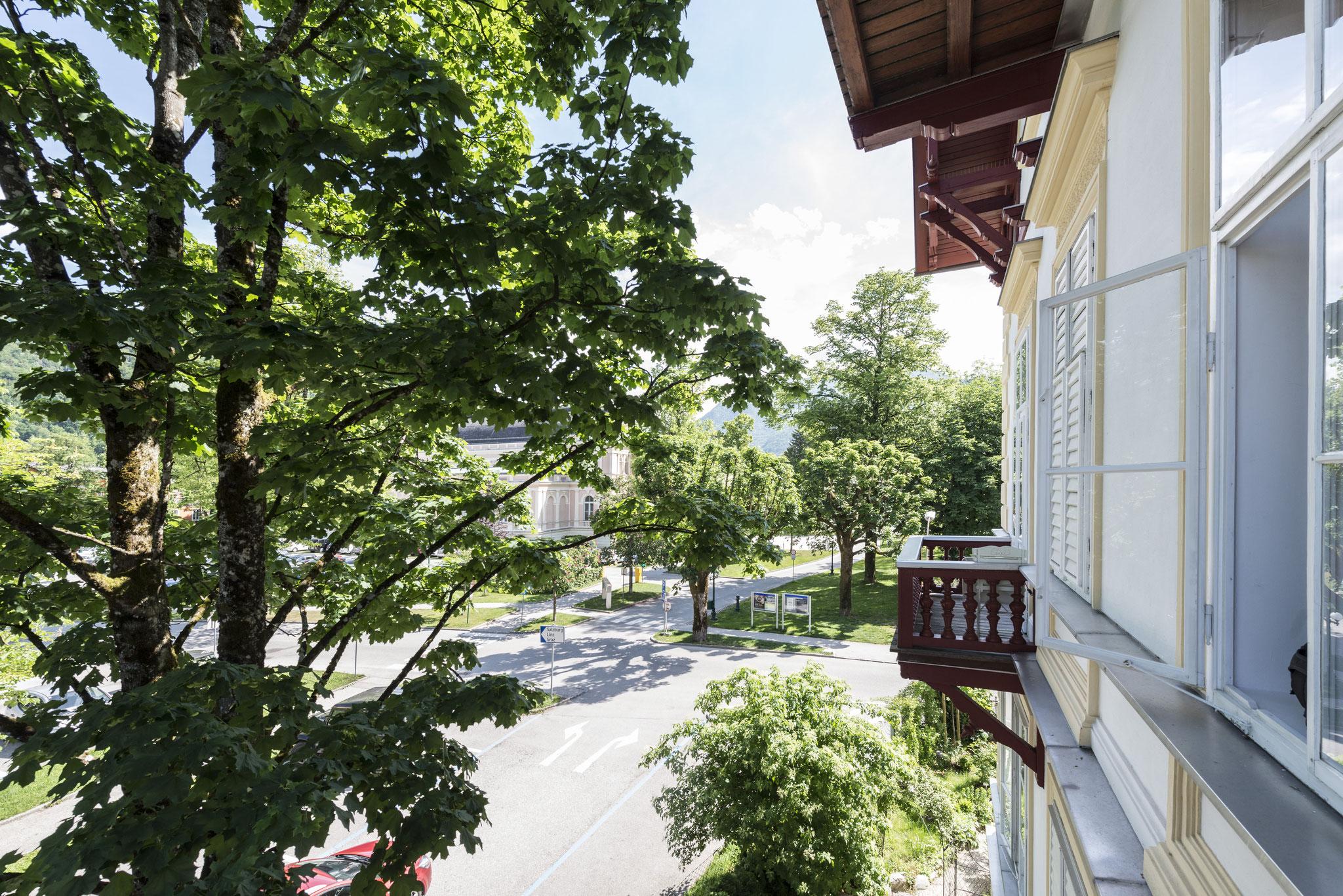 Ausblick Apartment Refugium Bad Ischl