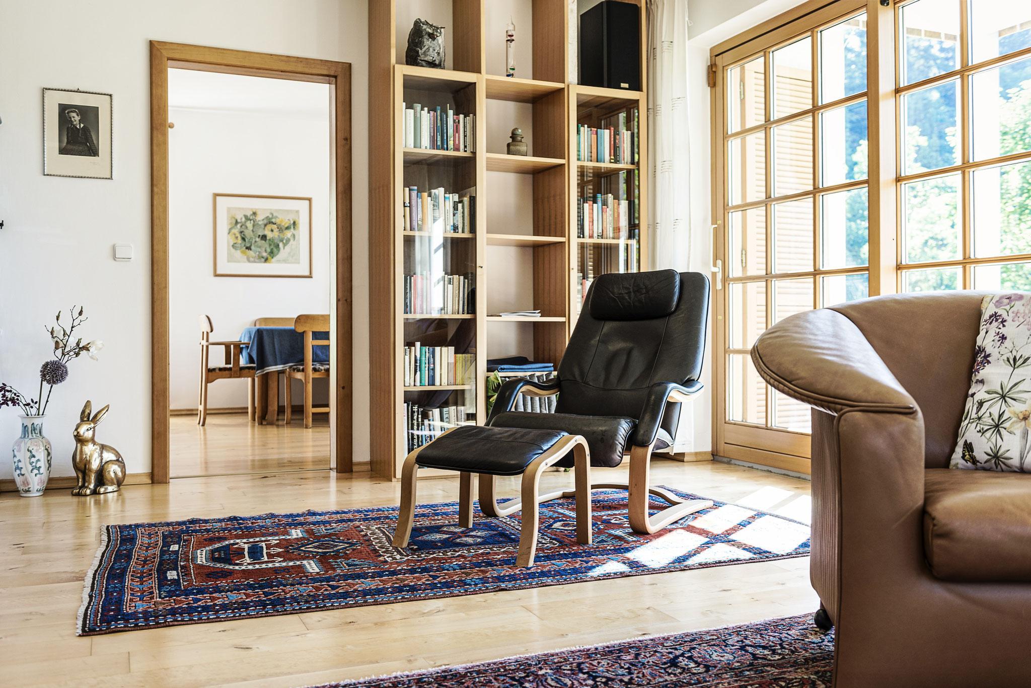 Wohnzimmer Villa Anna Bad Goisern