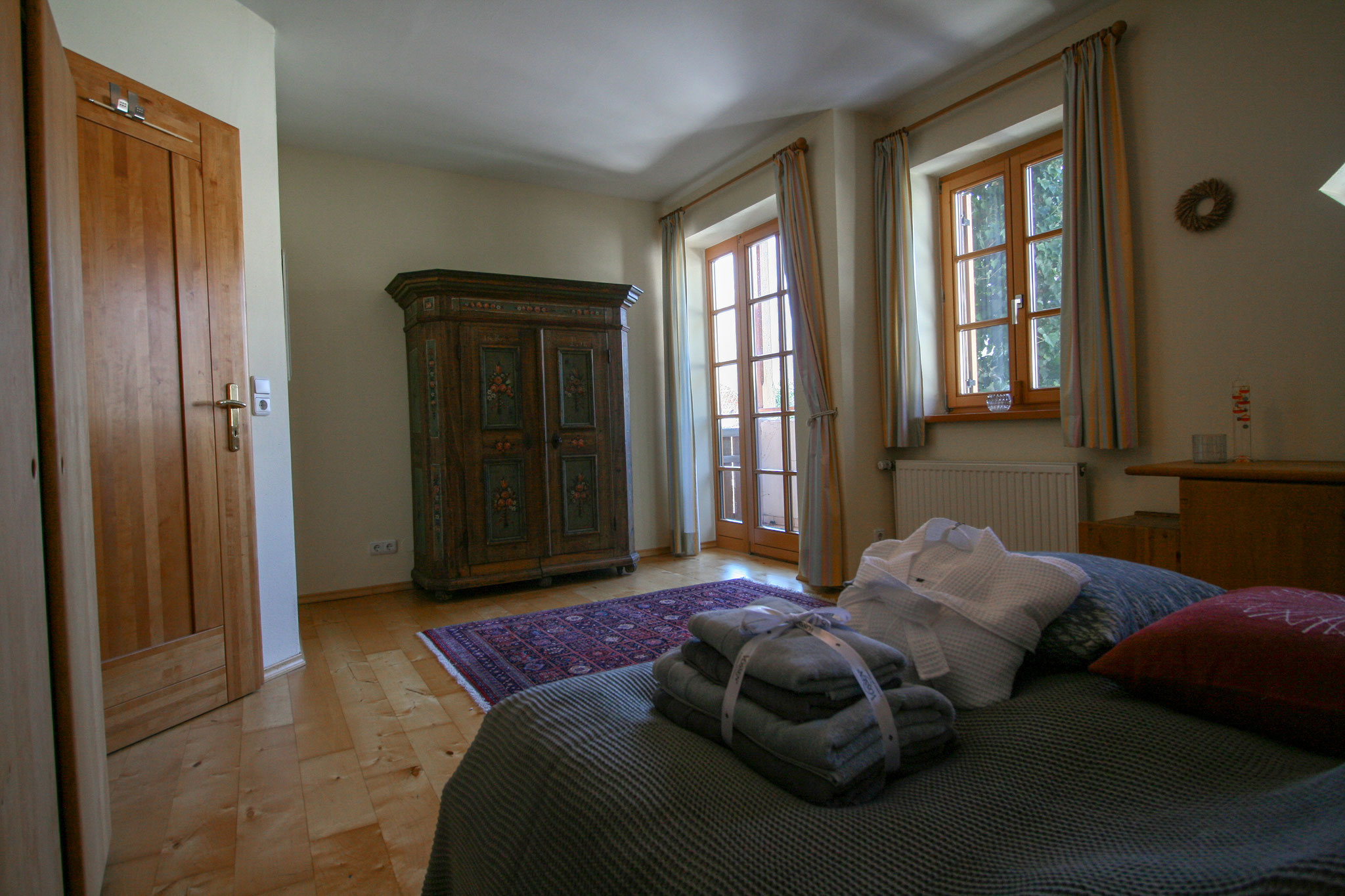 Bed room Villa Anna Bad Goisern