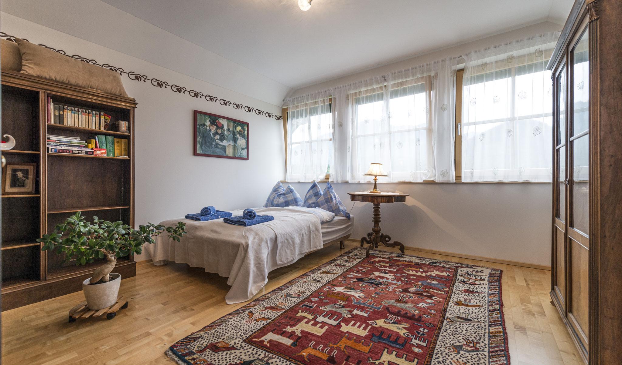 drittes Schlafzimmer Ferienhaus Ausseerland
