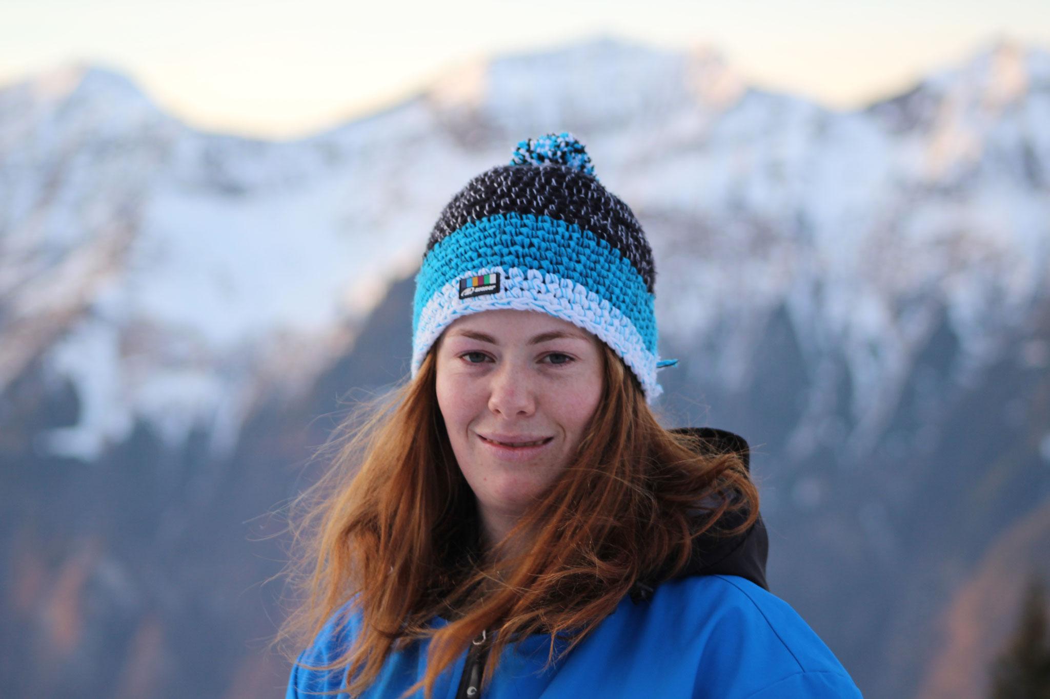 Anja Walthard Küchenchefin, Skifahrerin