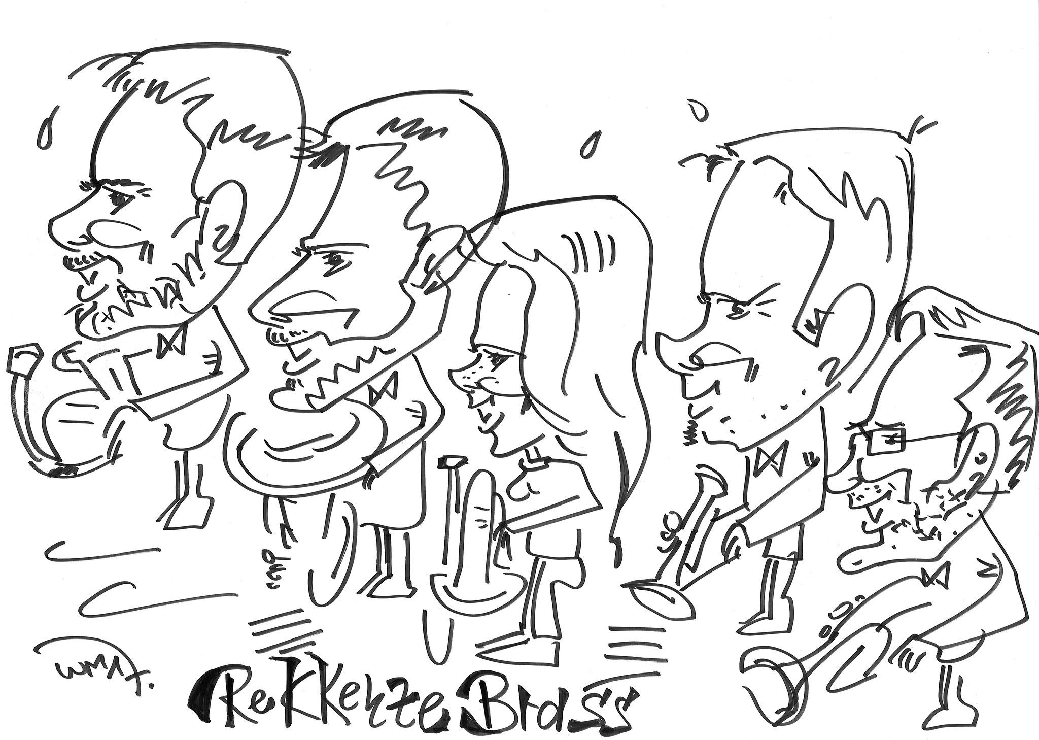 Karikatur REKKENZE BRASS