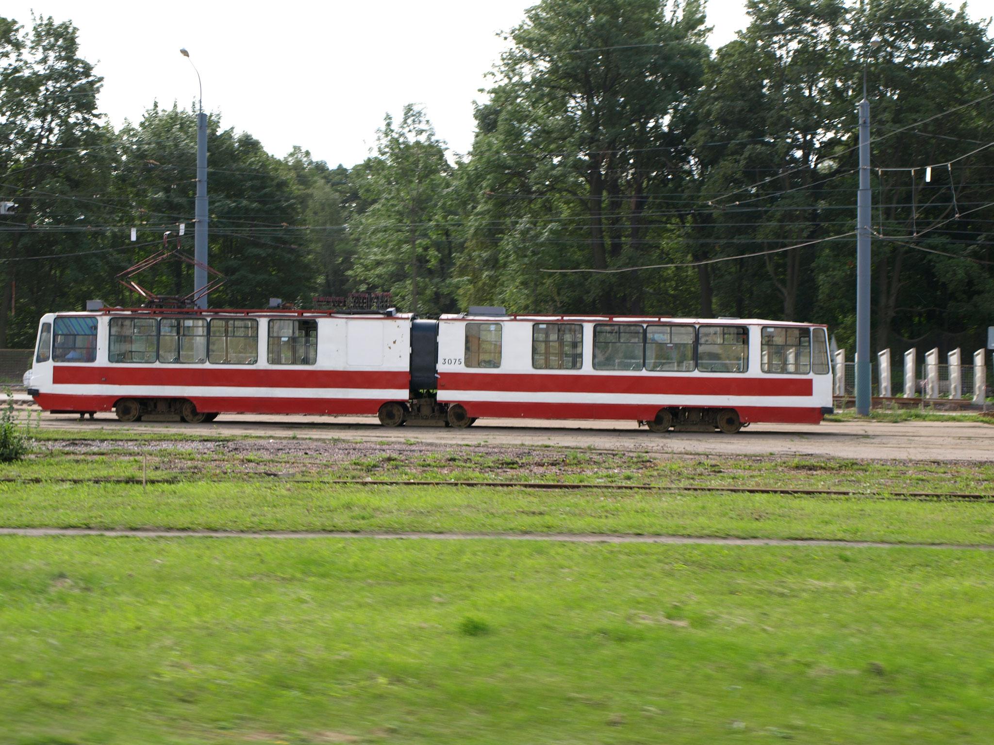 Strassenbahn in St.Petersburg ( sehr alt)
